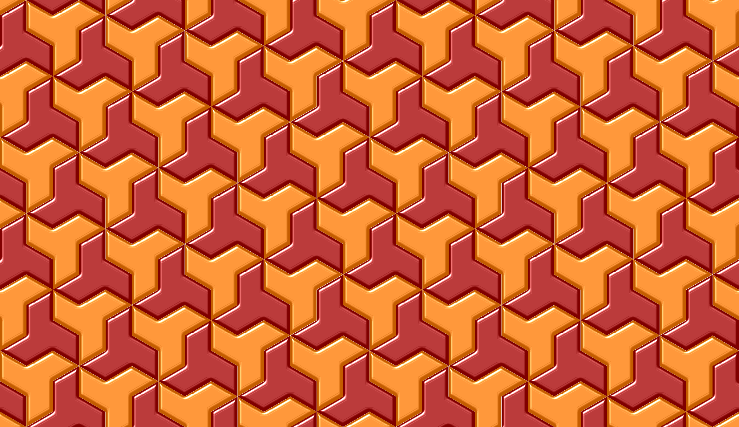 Tessellation 4 (colour 3) by Firkin