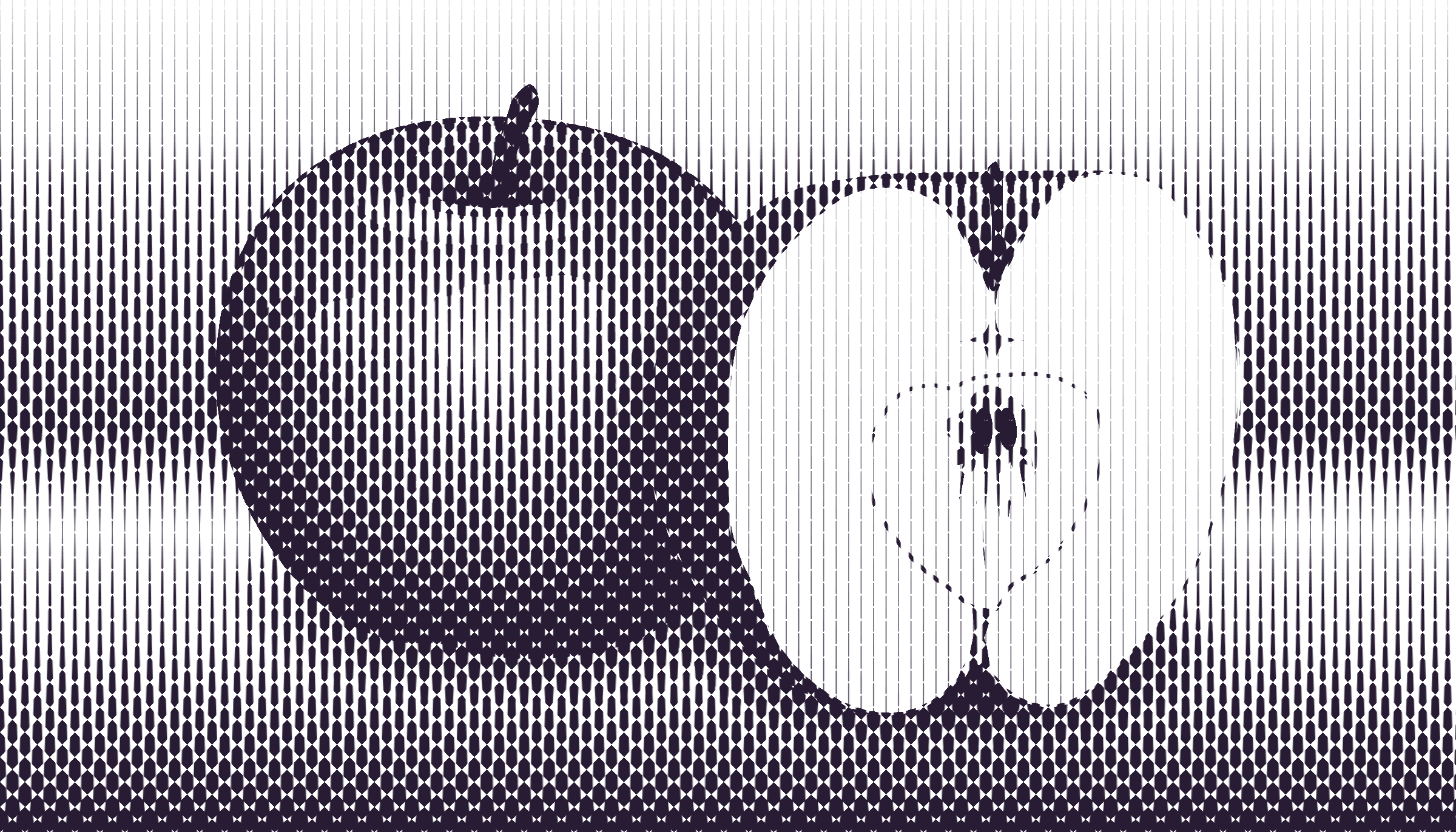 halftone apple 3 by Lazur URH