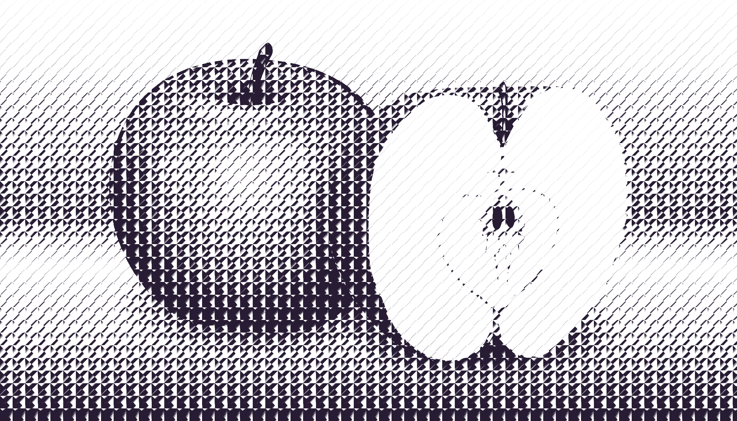 halftone apple 7 by Lazur URH