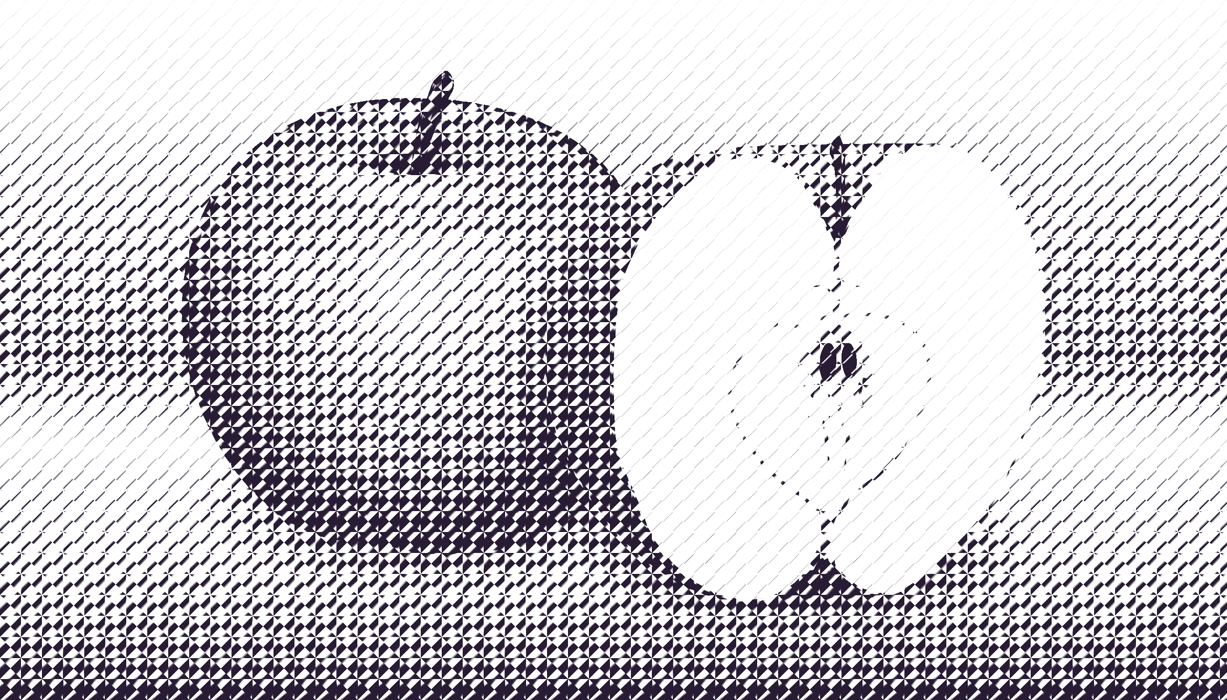 halftone apple 10 by Lazur URH