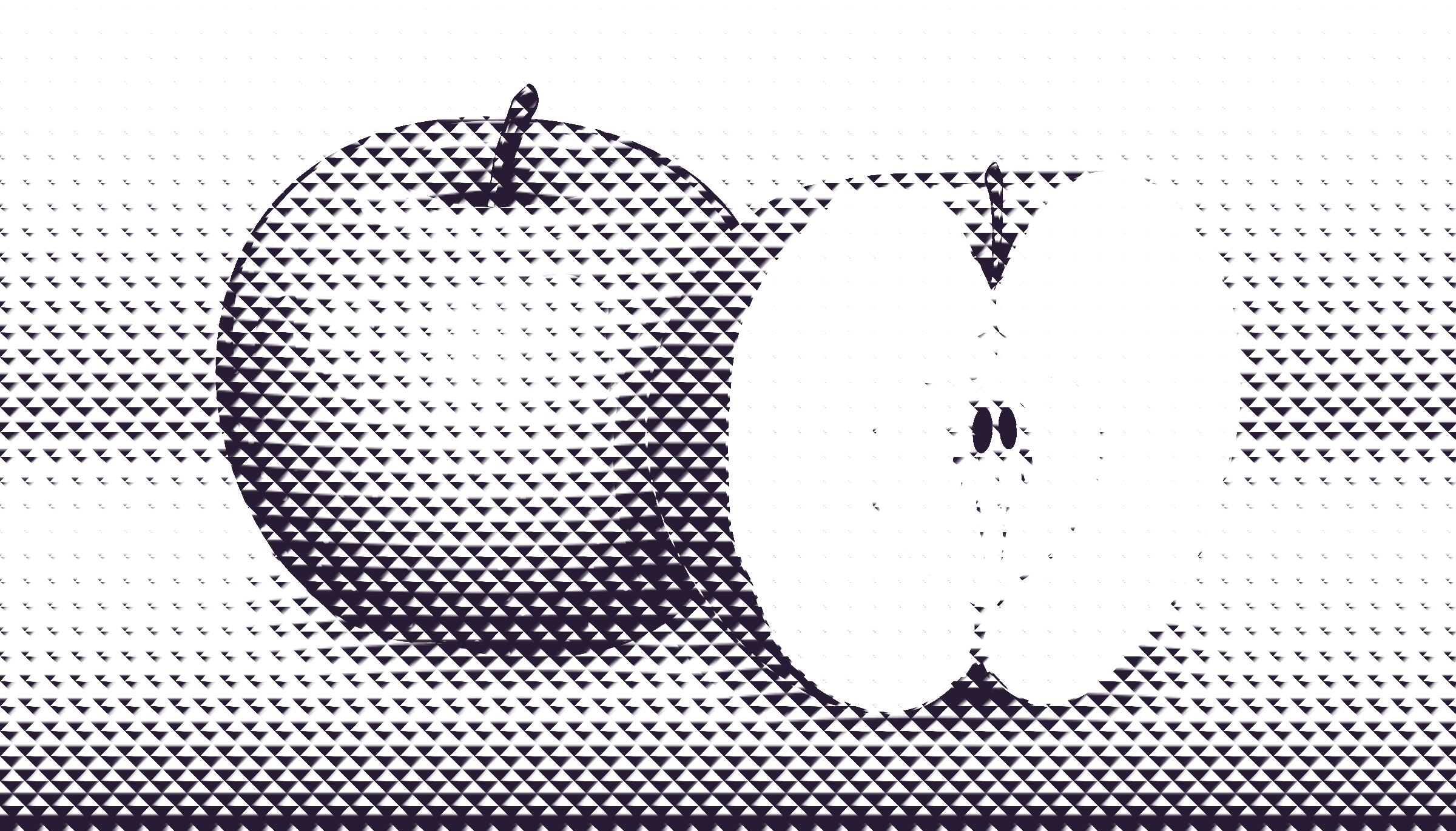 halftone apple 11 by Lazur URH