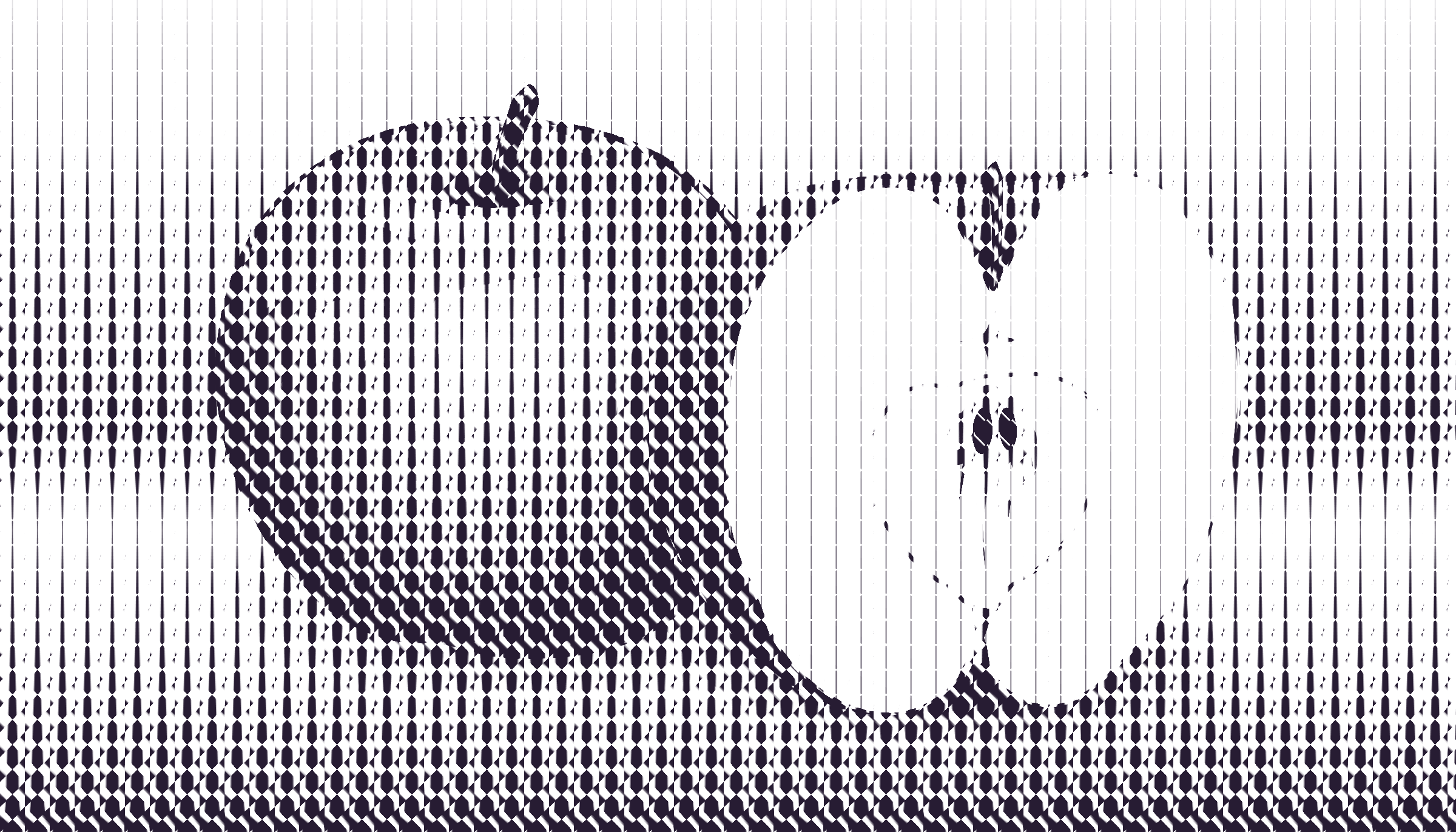 halftone apple 12 by Lazur URH
