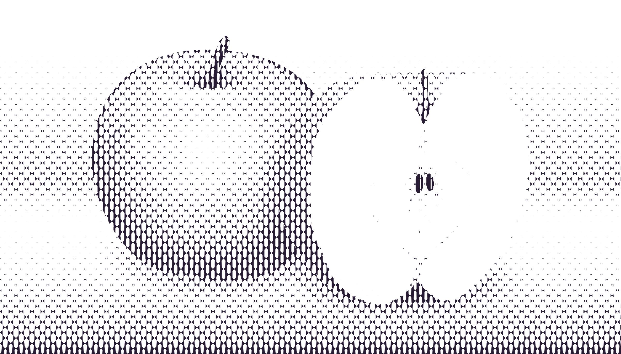 halftone apple 13 by Lazur URH