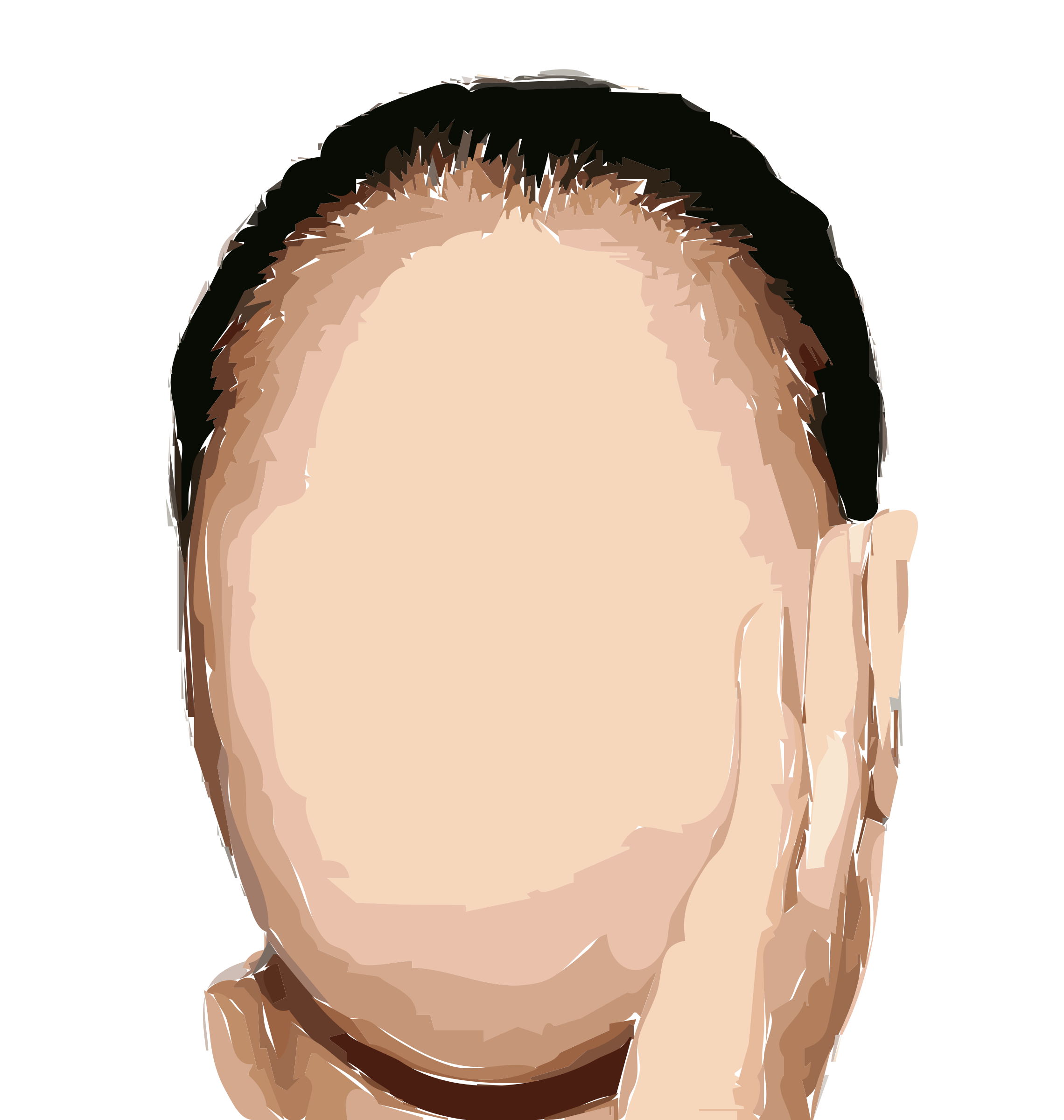 Faceless Remix (Non-Derp Face) Vectorized by 5mgnde+4irfsi8q3963g