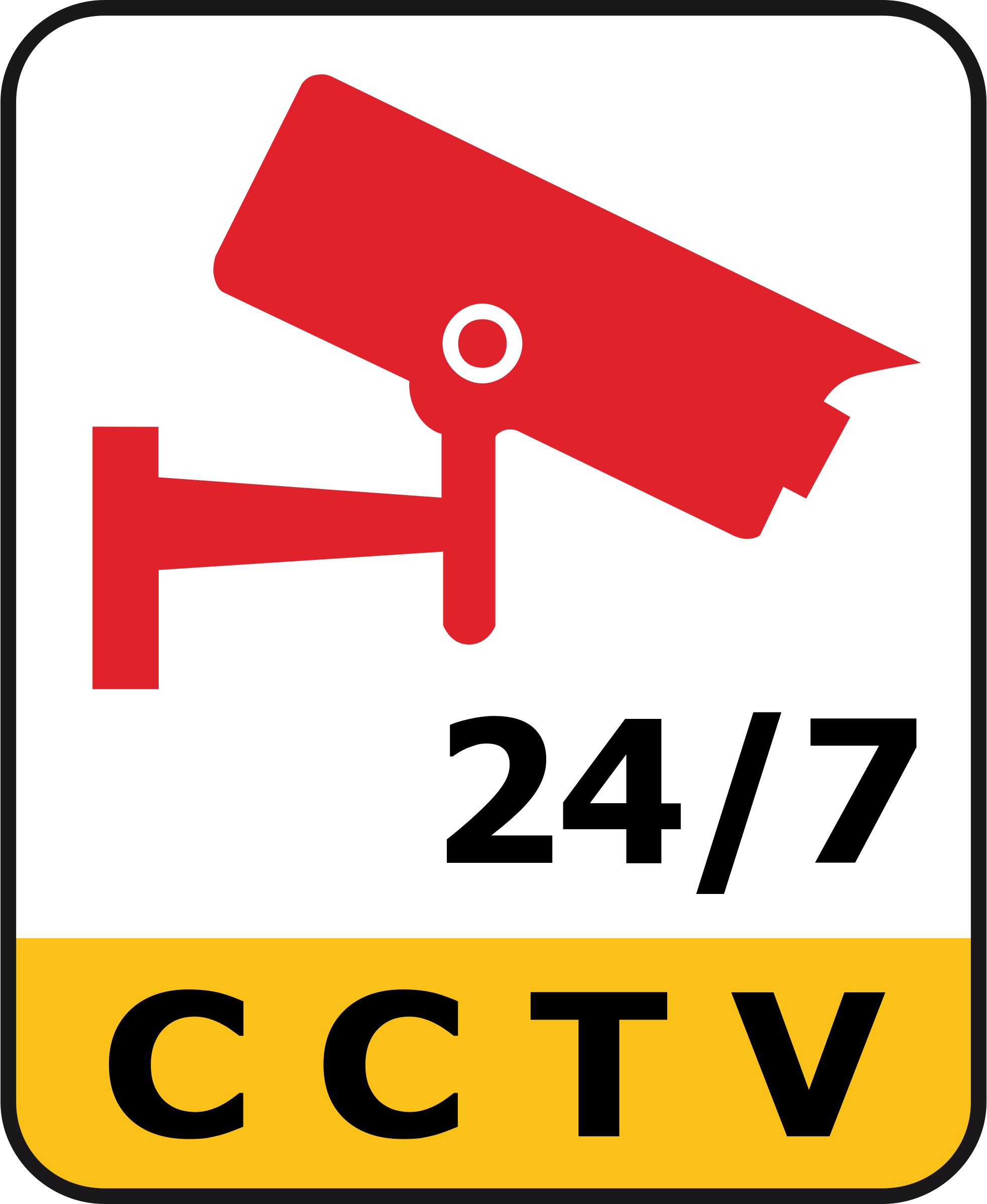 CCTV 24/7 Camera Surveillance by HuongDesign