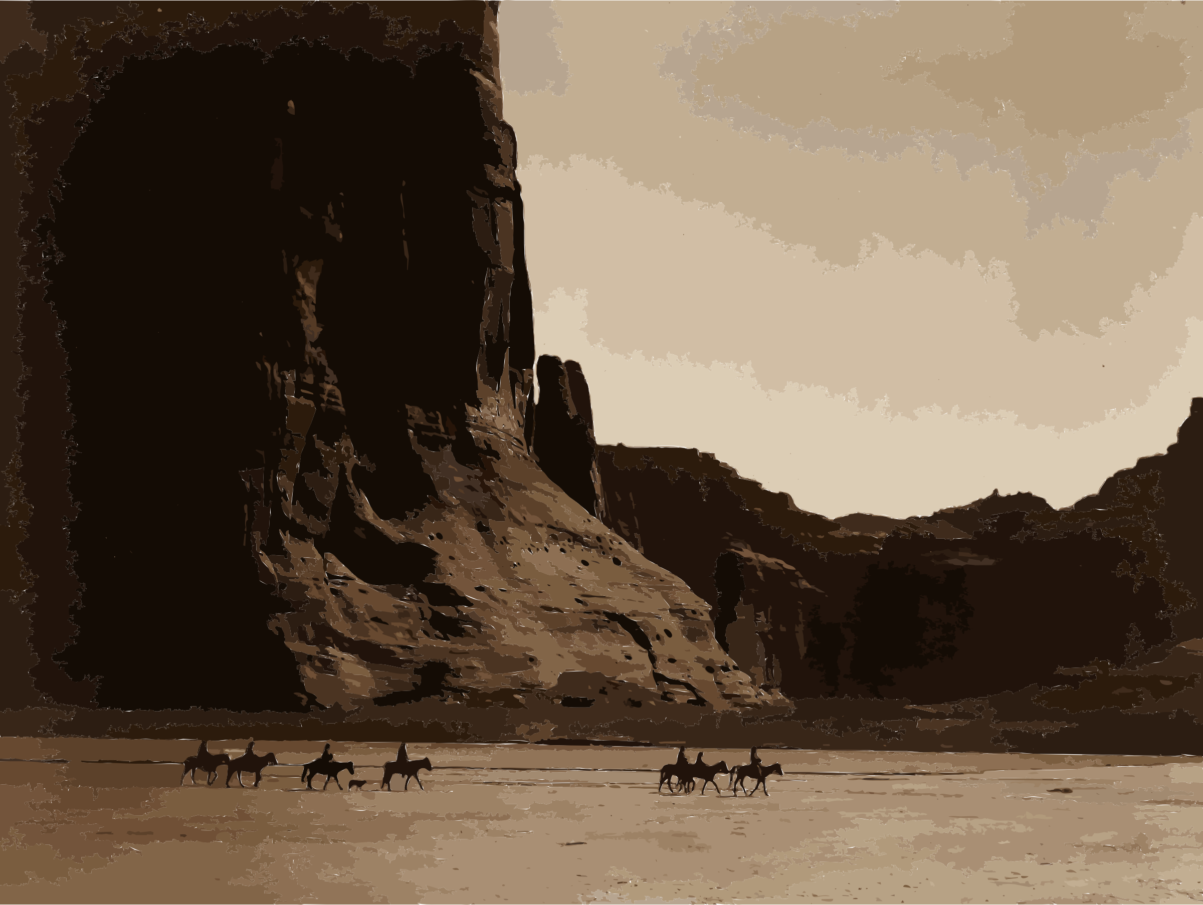 Canyon de Chelly, Navajo by 5n7epj+9741chlinrj78