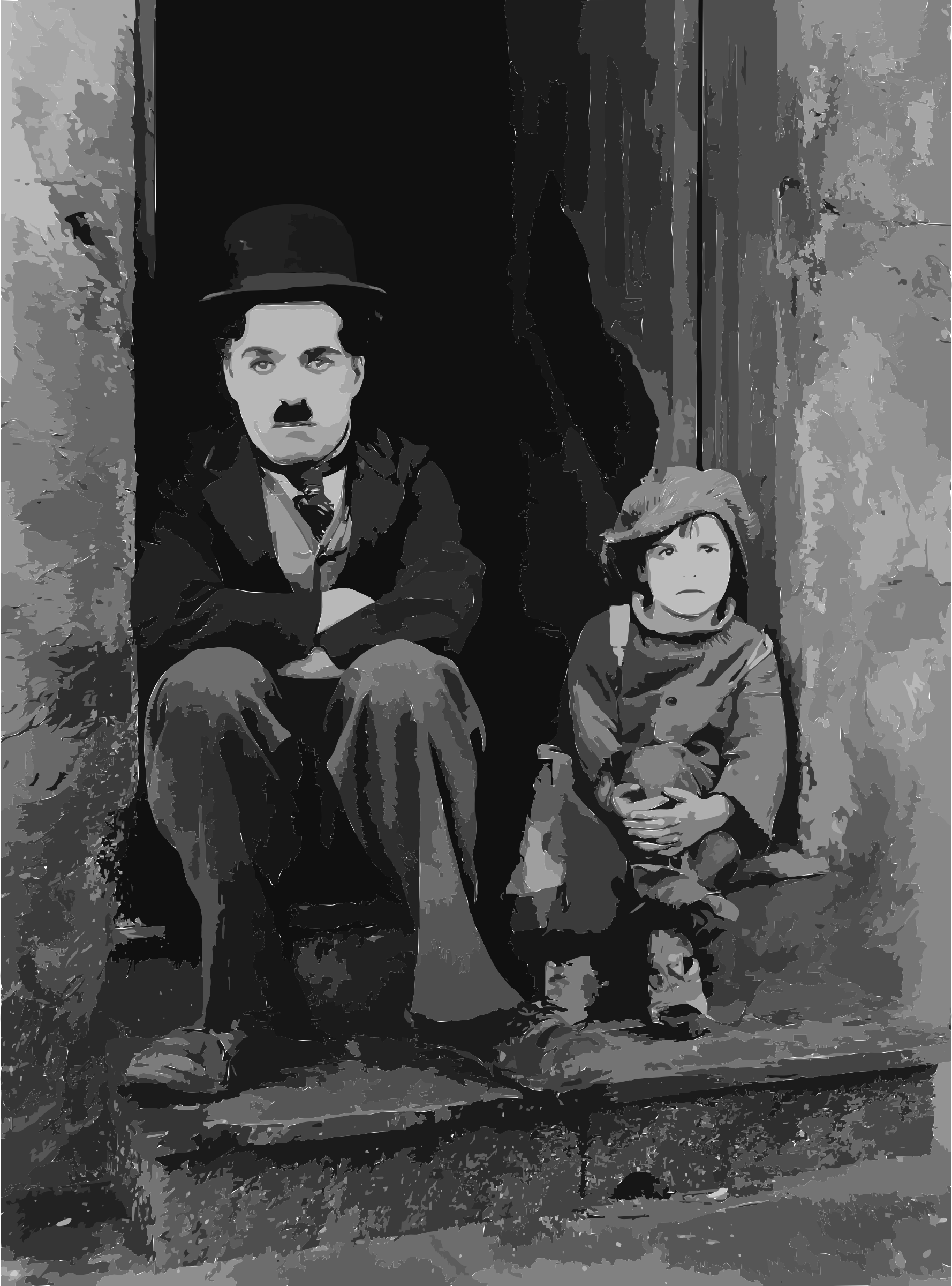 Chaplin The Kid edit by 5nbz3a+45jqtl07aorc
