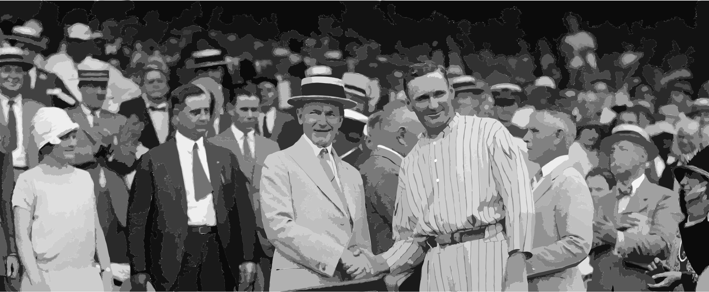 Walter Johnson and Calvin Coolidge shake hands FINAL by 5nbz3a+45jqtl07aorc