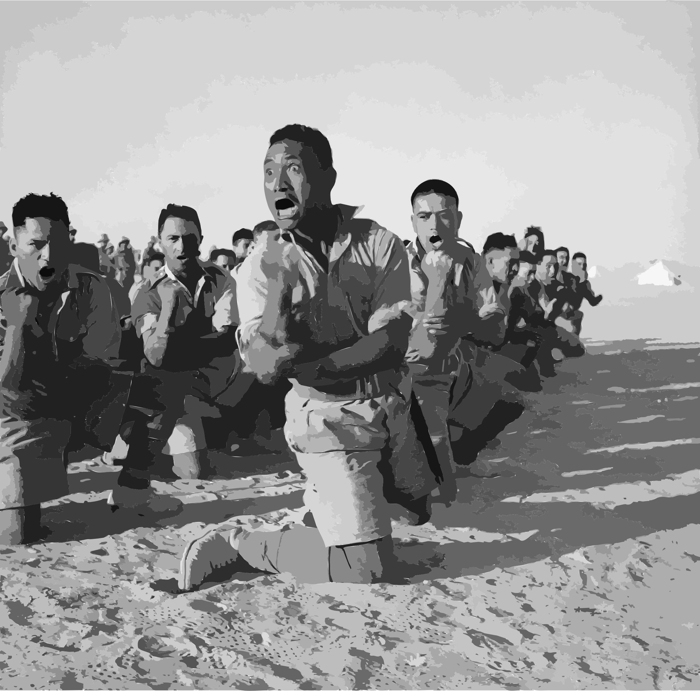 E 003261 E Maoris in North Africa July 1941 by 5ncrcv+exryzbsq0bgao