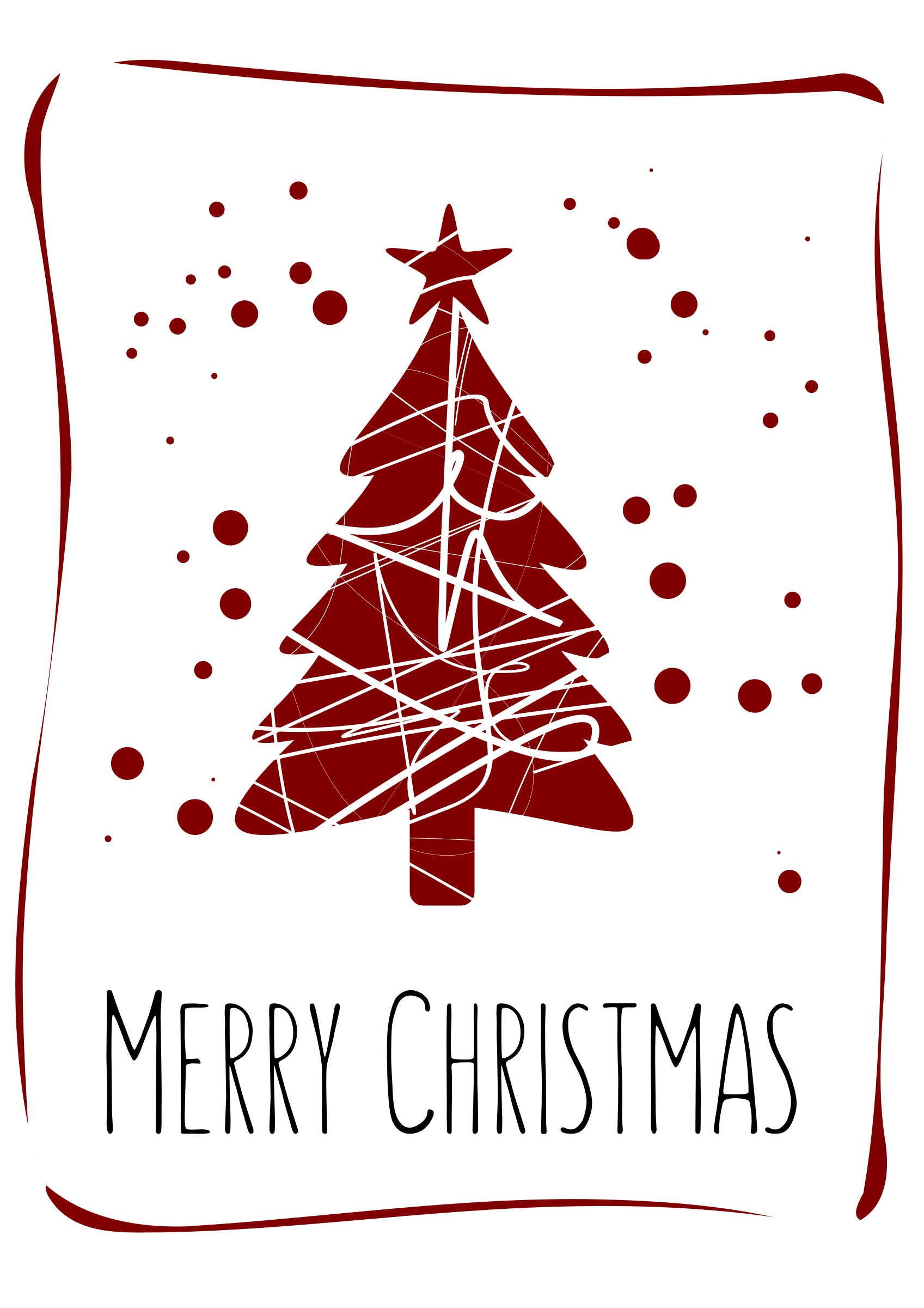 christmas card design by djtartak