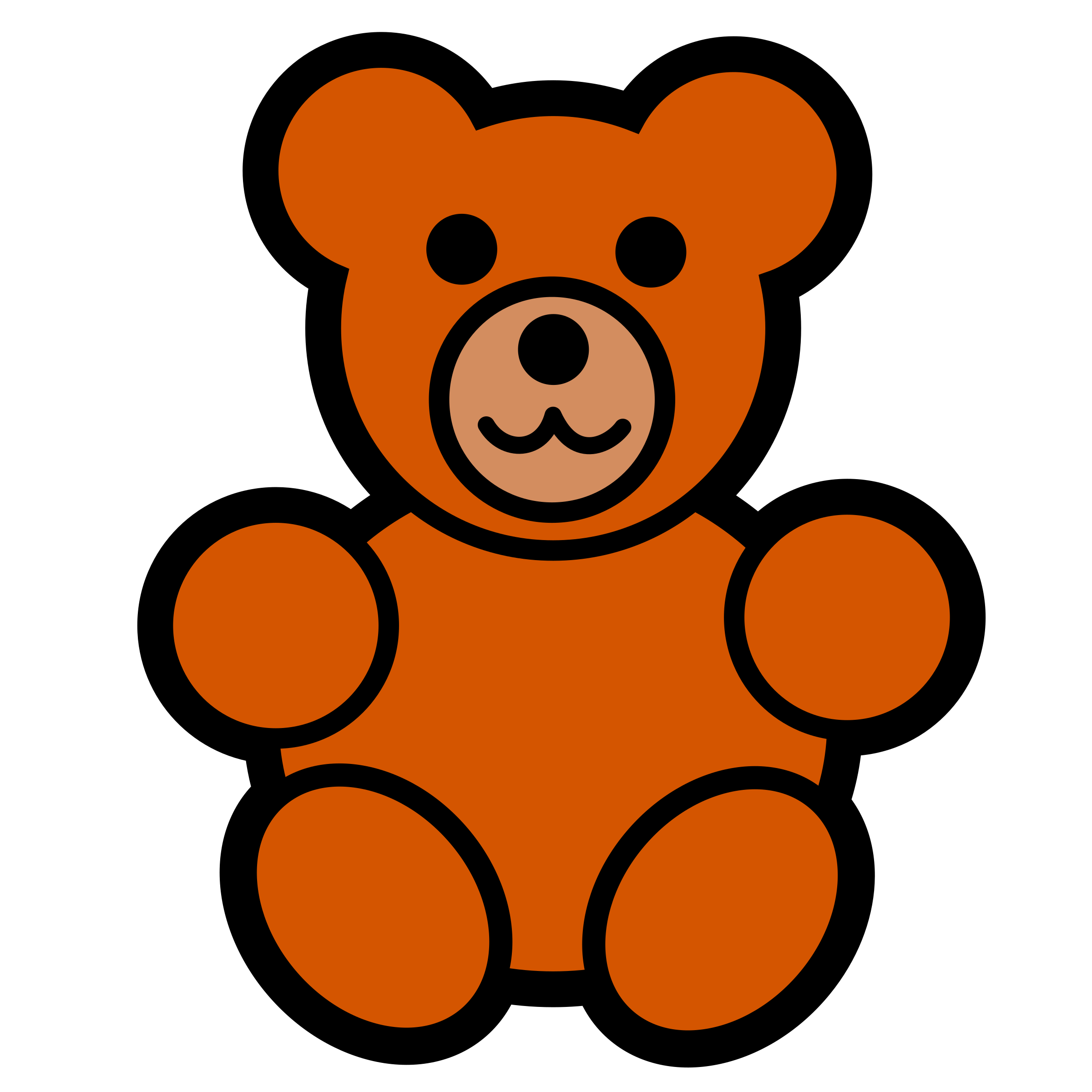 teddy bear icon by pitr
