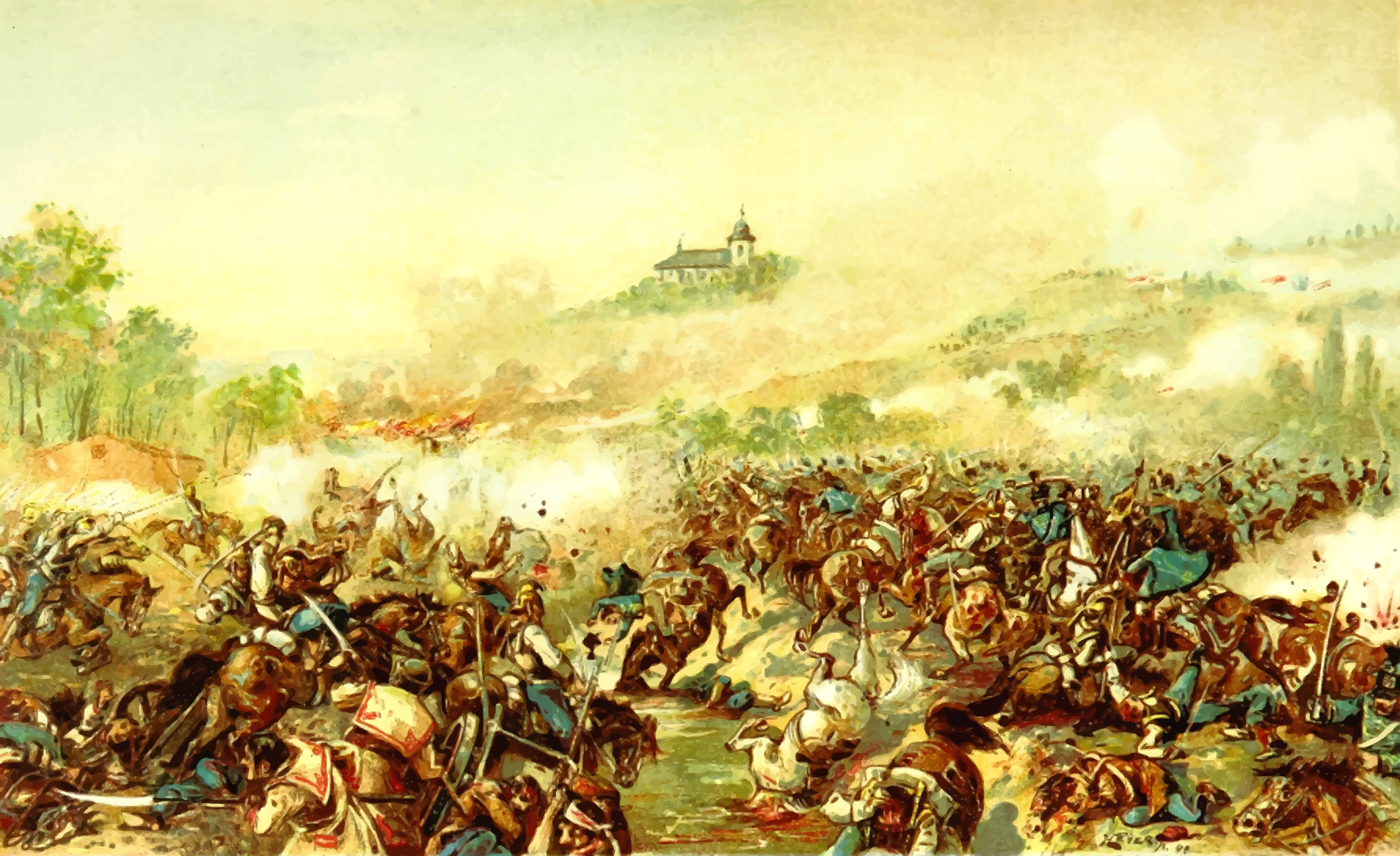 Battle of Isaszeg by Firkin