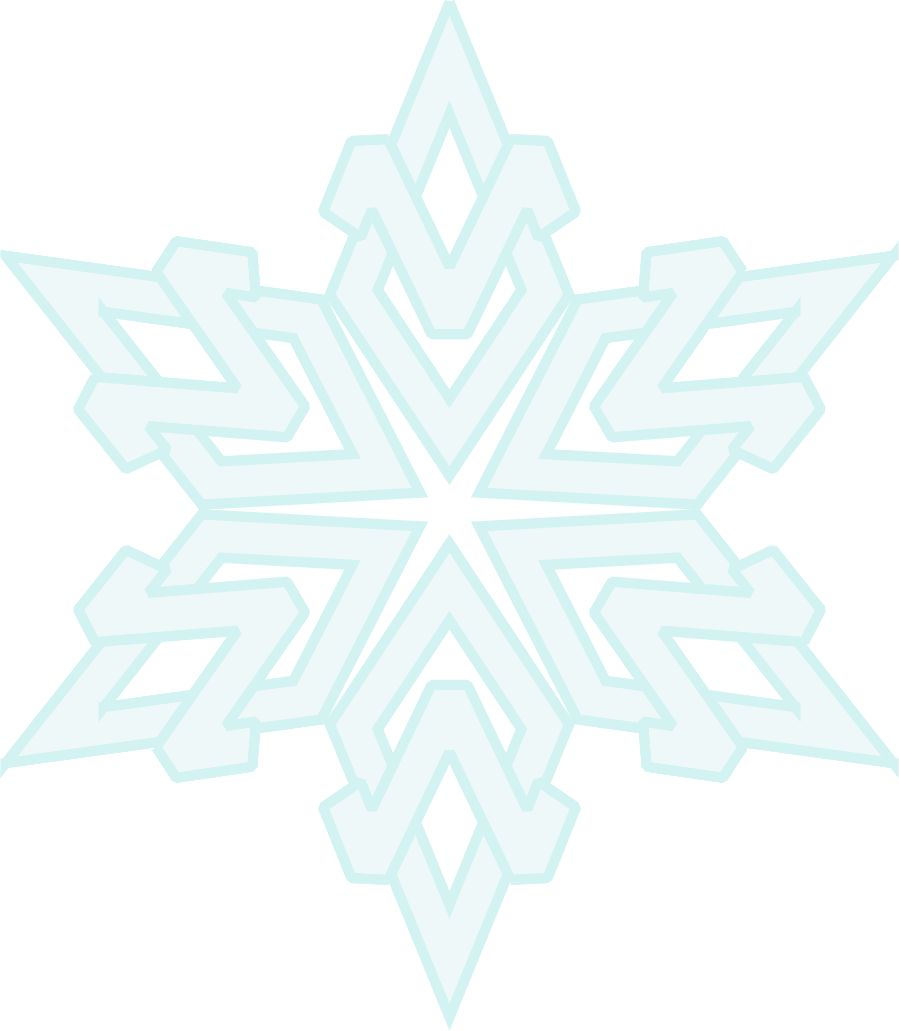 Snowflake 12 by Arvin61r58