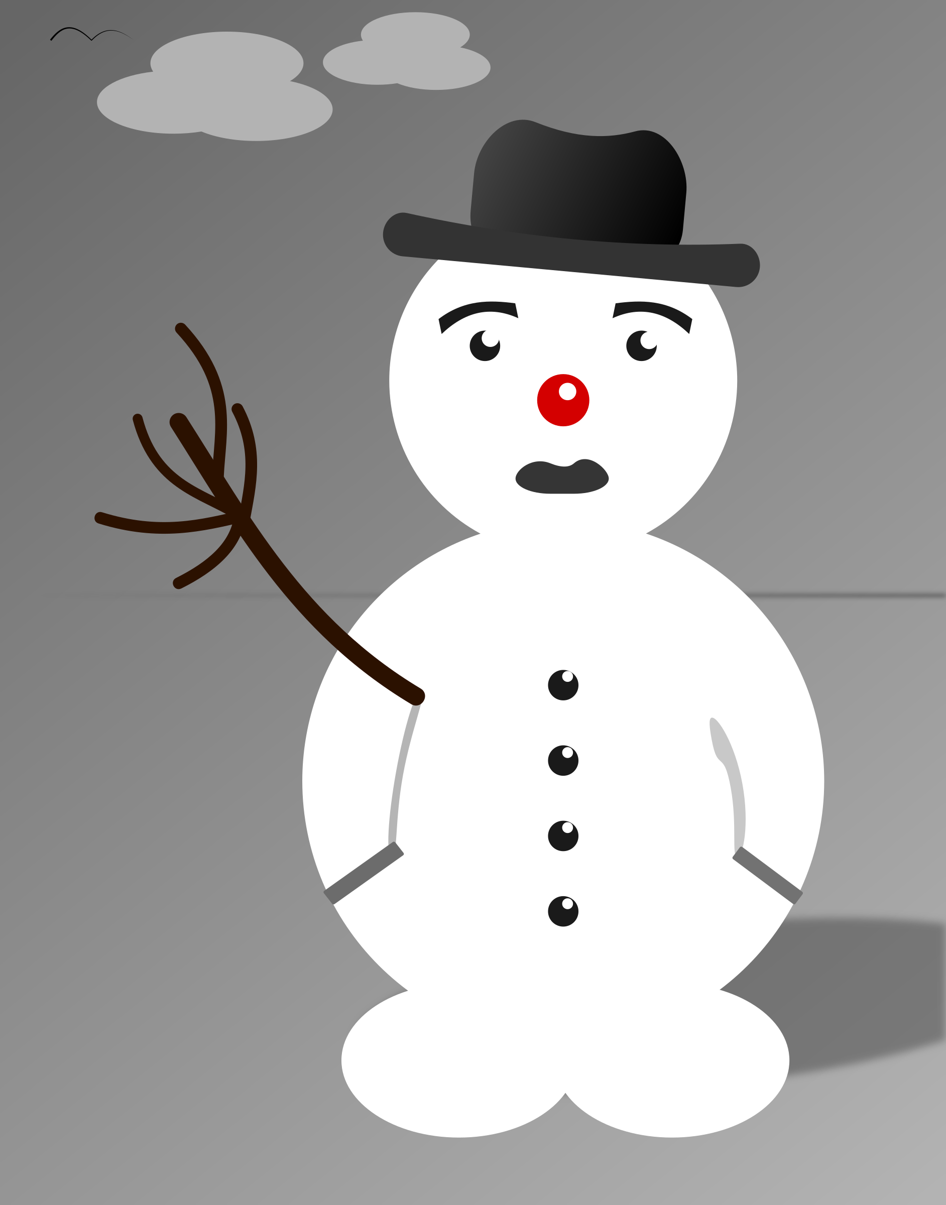 Snowman-simple by SGS