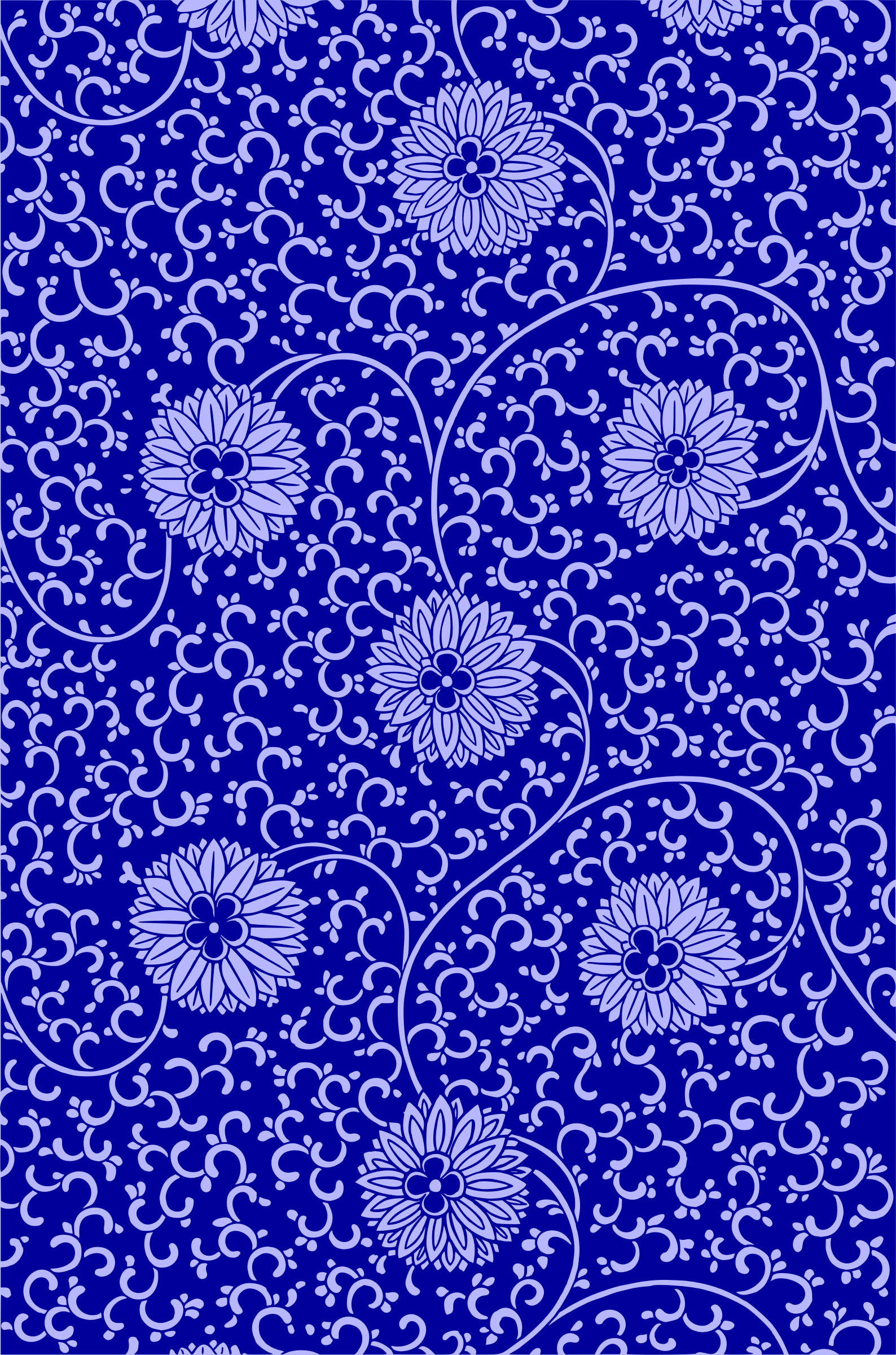 Floral pattern 2 (colour 3) by Firkin
