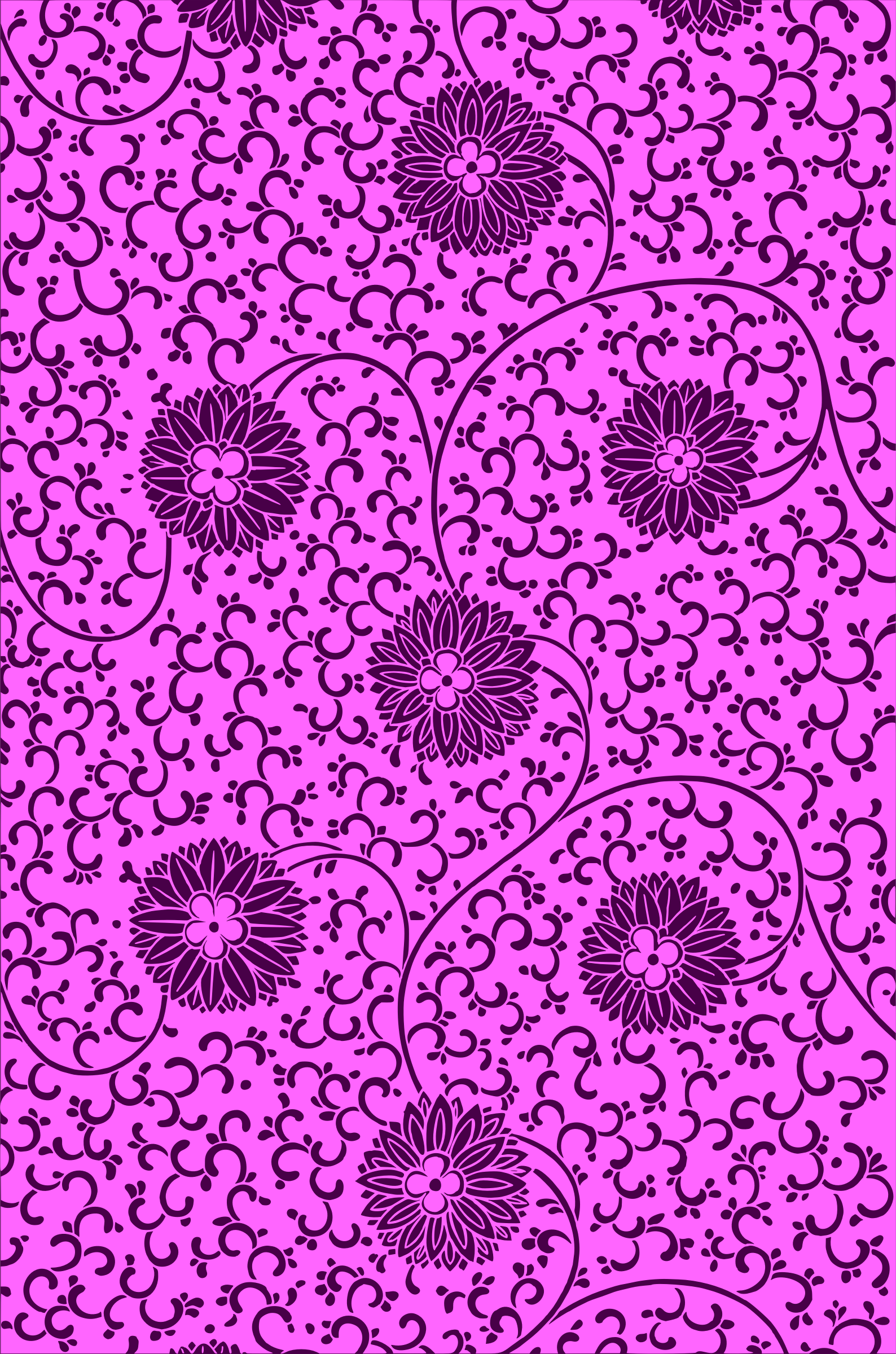 Floral pattern 2 (colour 6) by Firkin