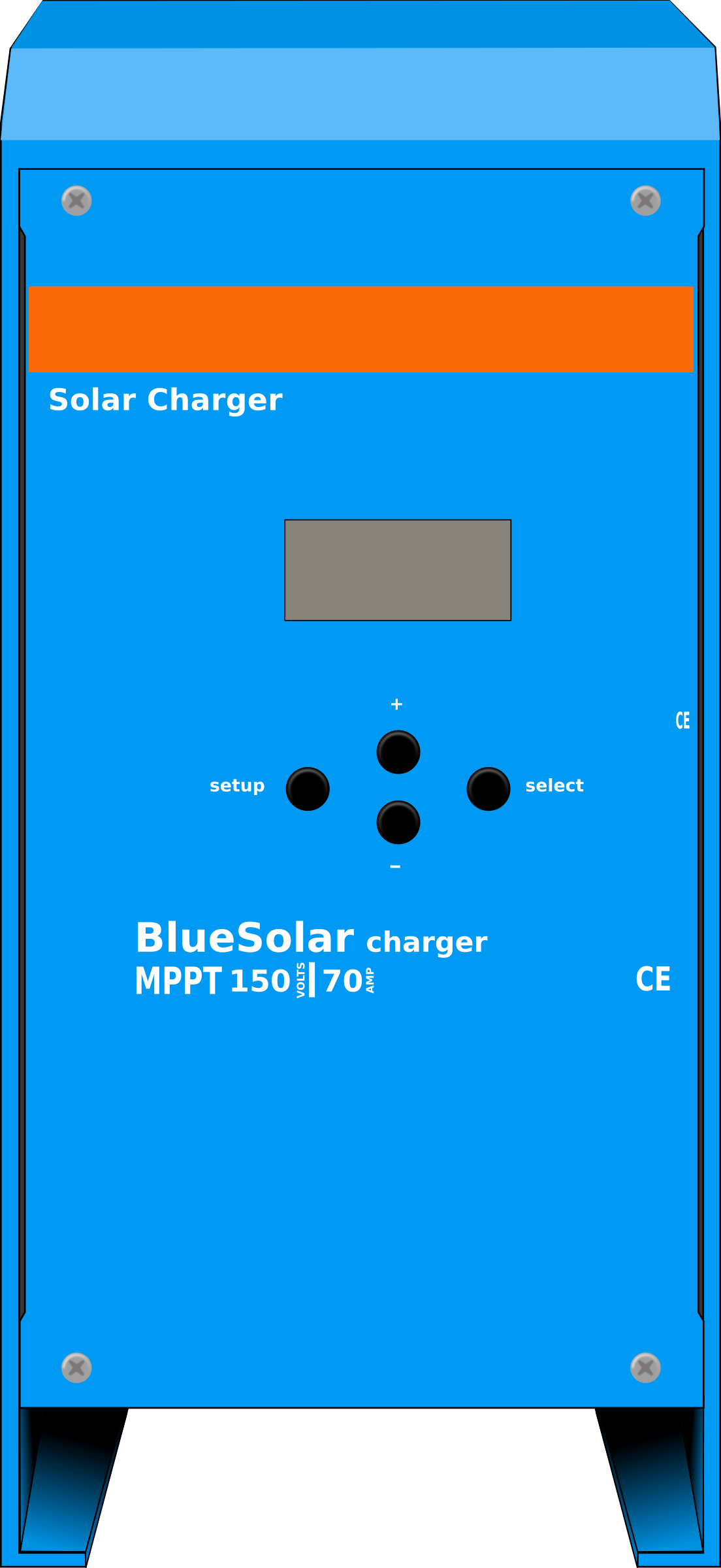 Solar battery charge regulator MPPT by flomoto