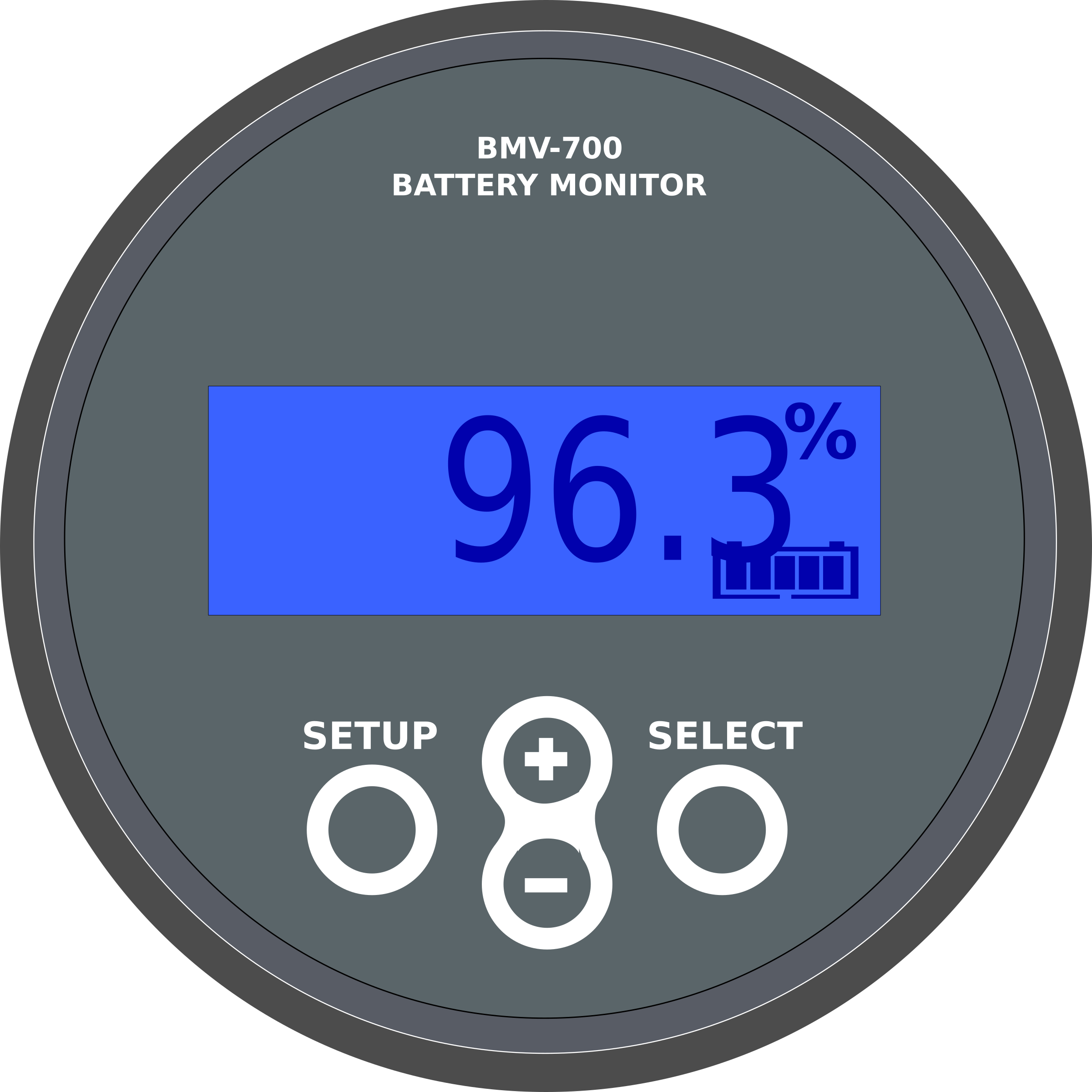 Battery monitor by flomoto
