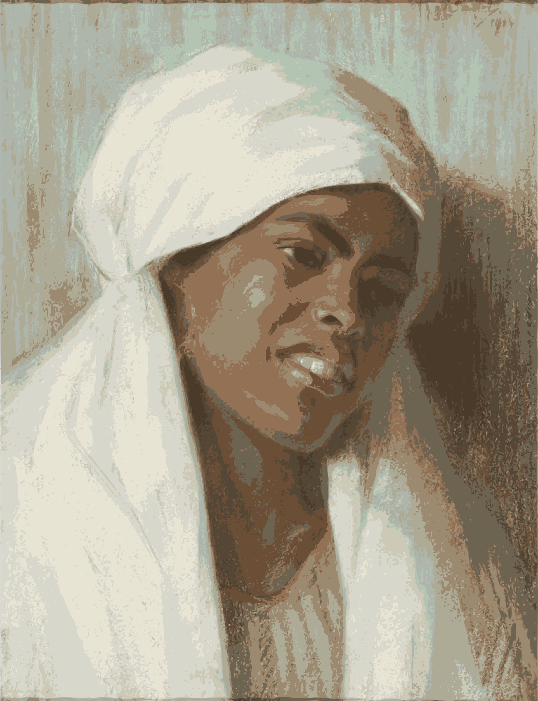 African Woman by j4p4n