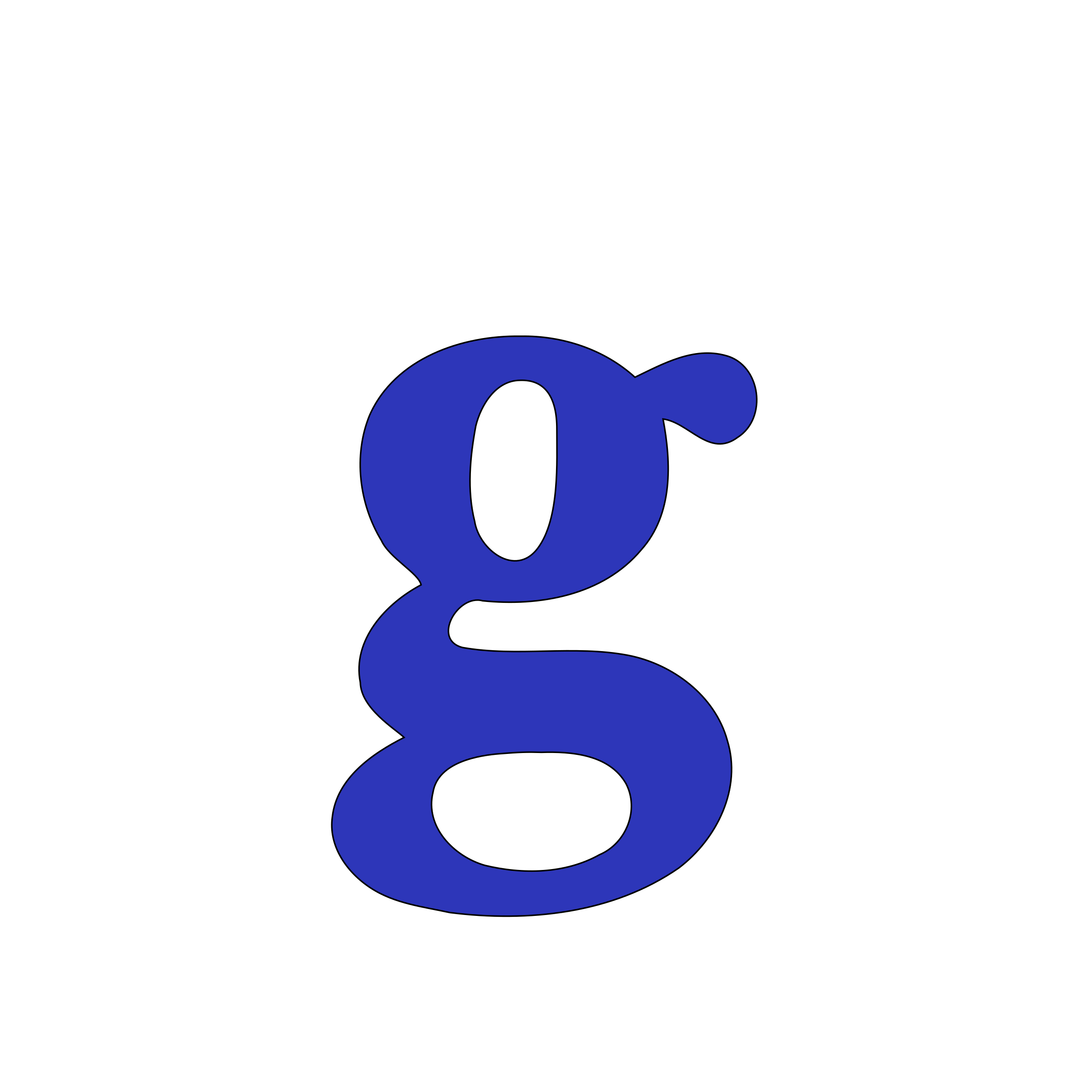 lowercase g by tuamora