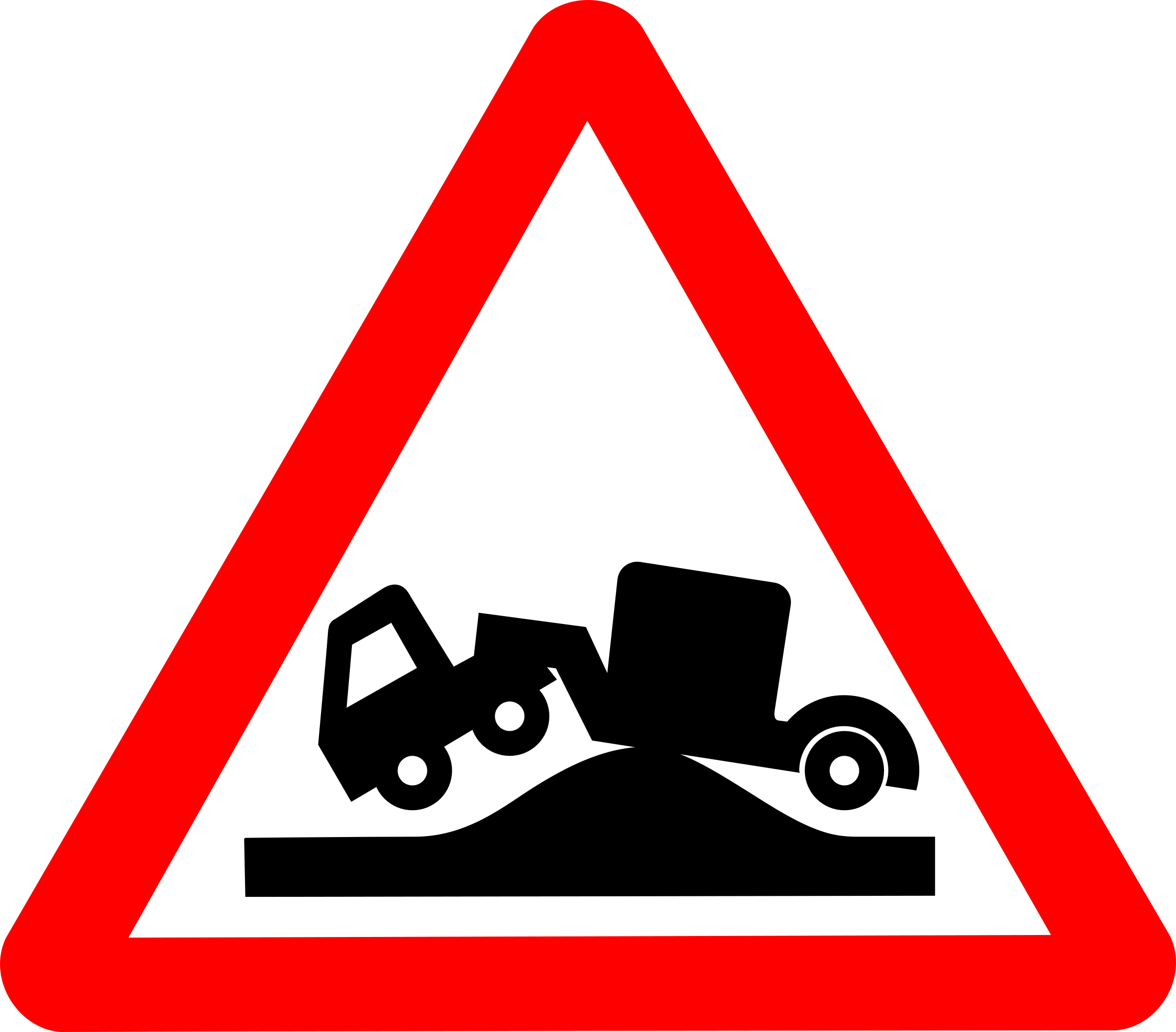Roadsign grounded by Simarilius