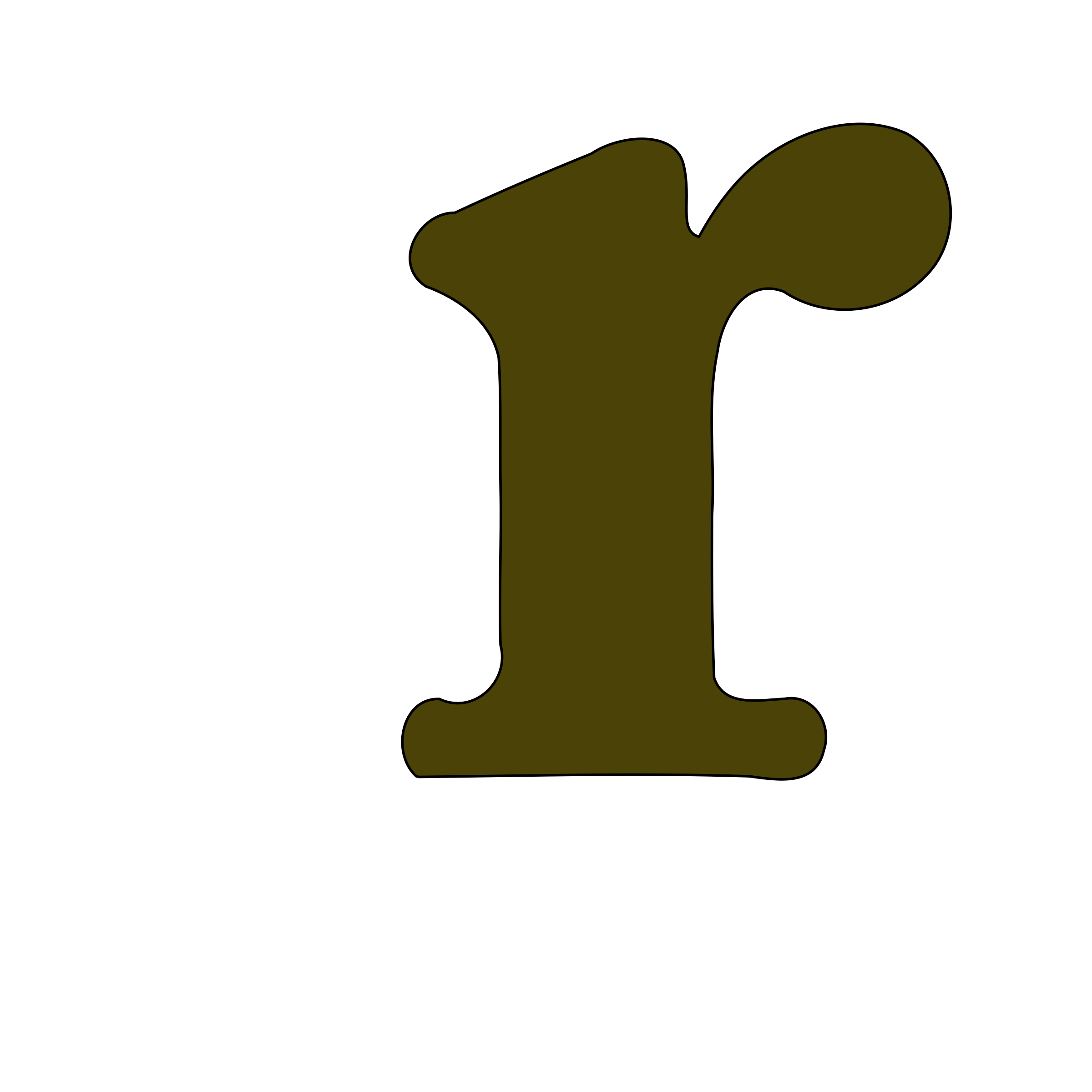 clipart lowercase r