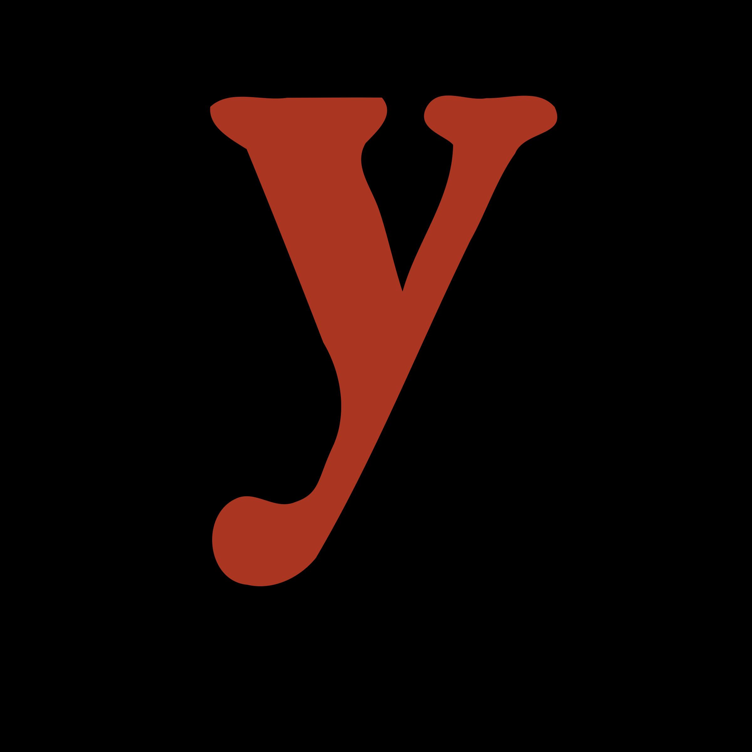 clipart lowercase y yc partners llc y clipart