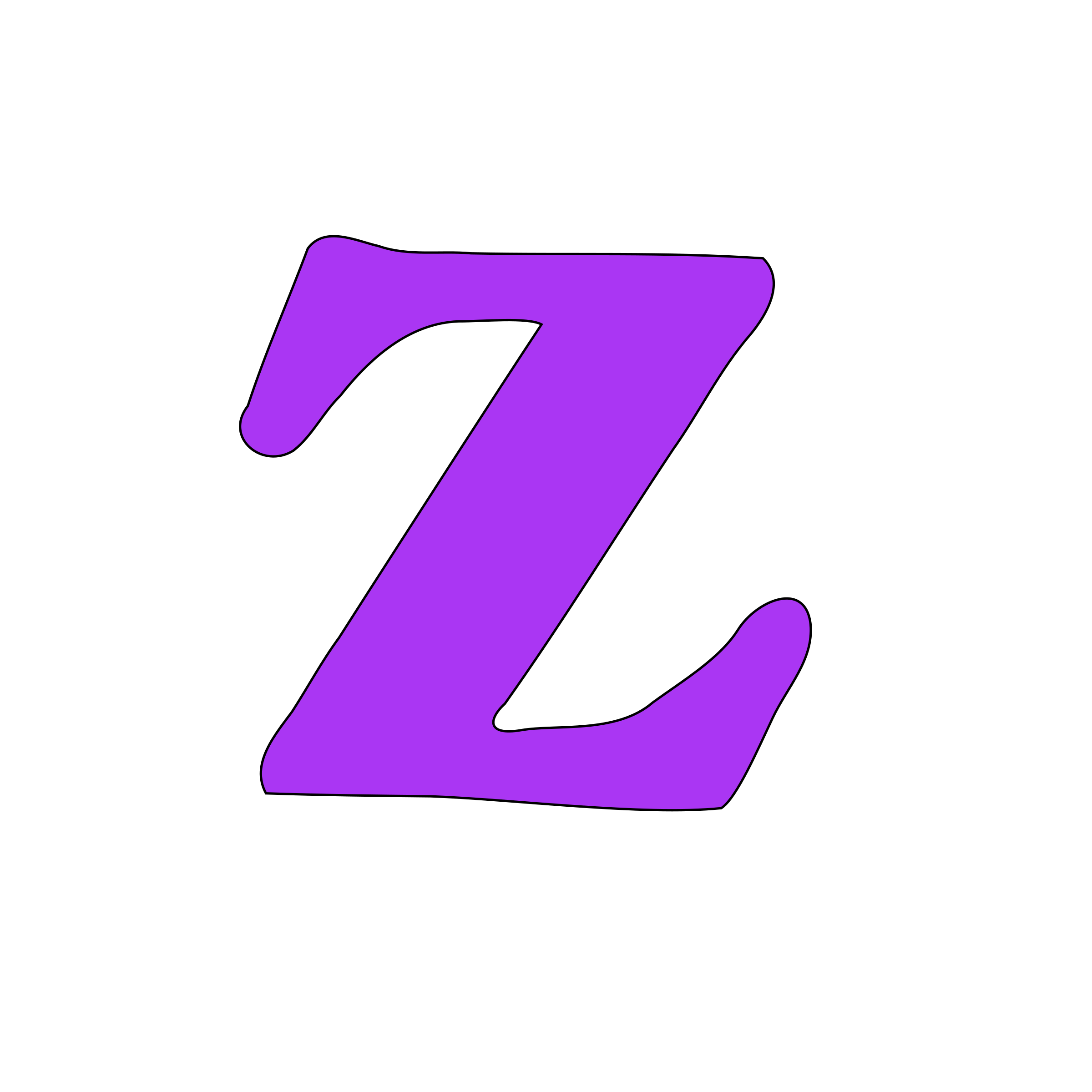 Lowercase z by tuamora