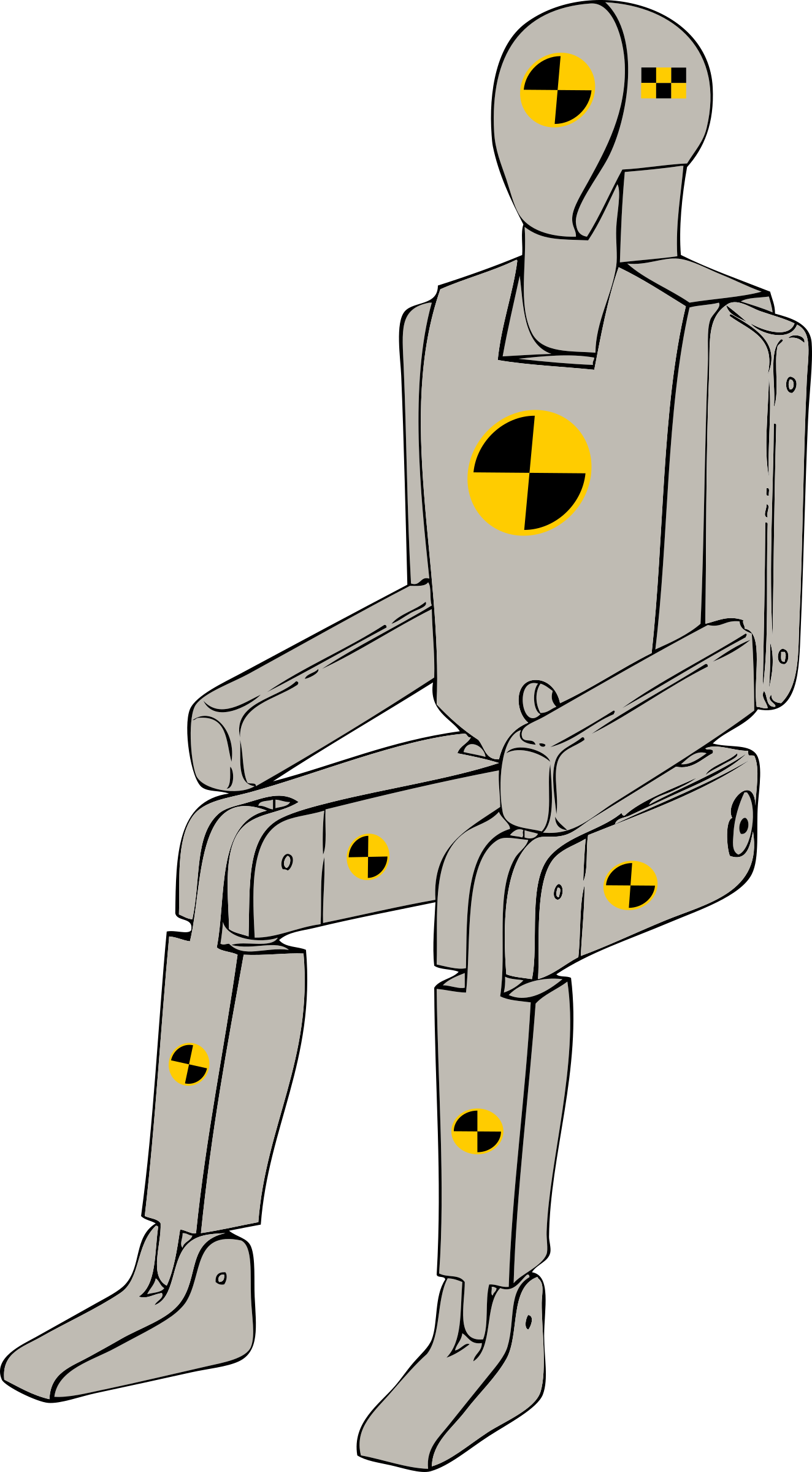 Crash Test Dummy by j4p4n