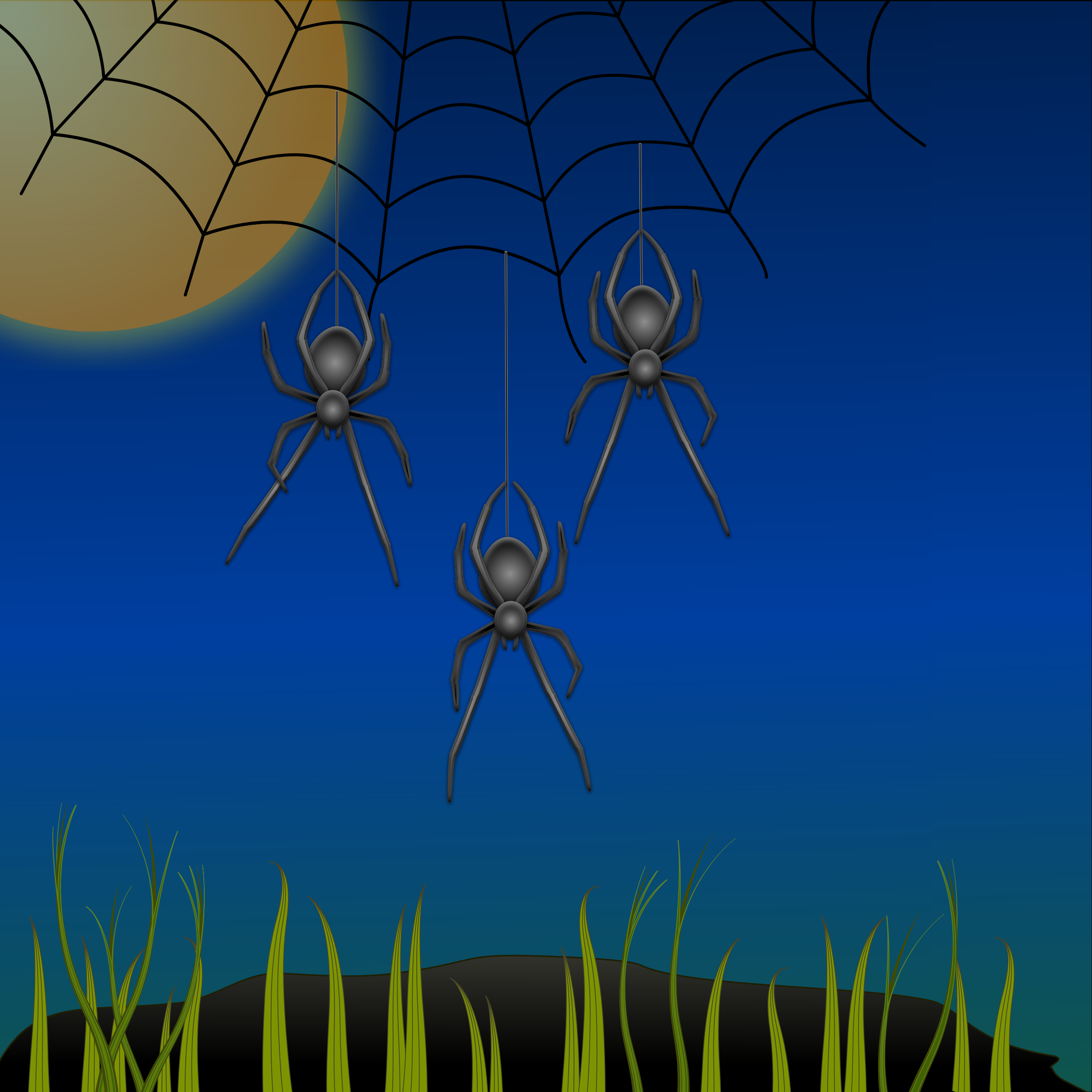 Ninja Spiders by Greg.M