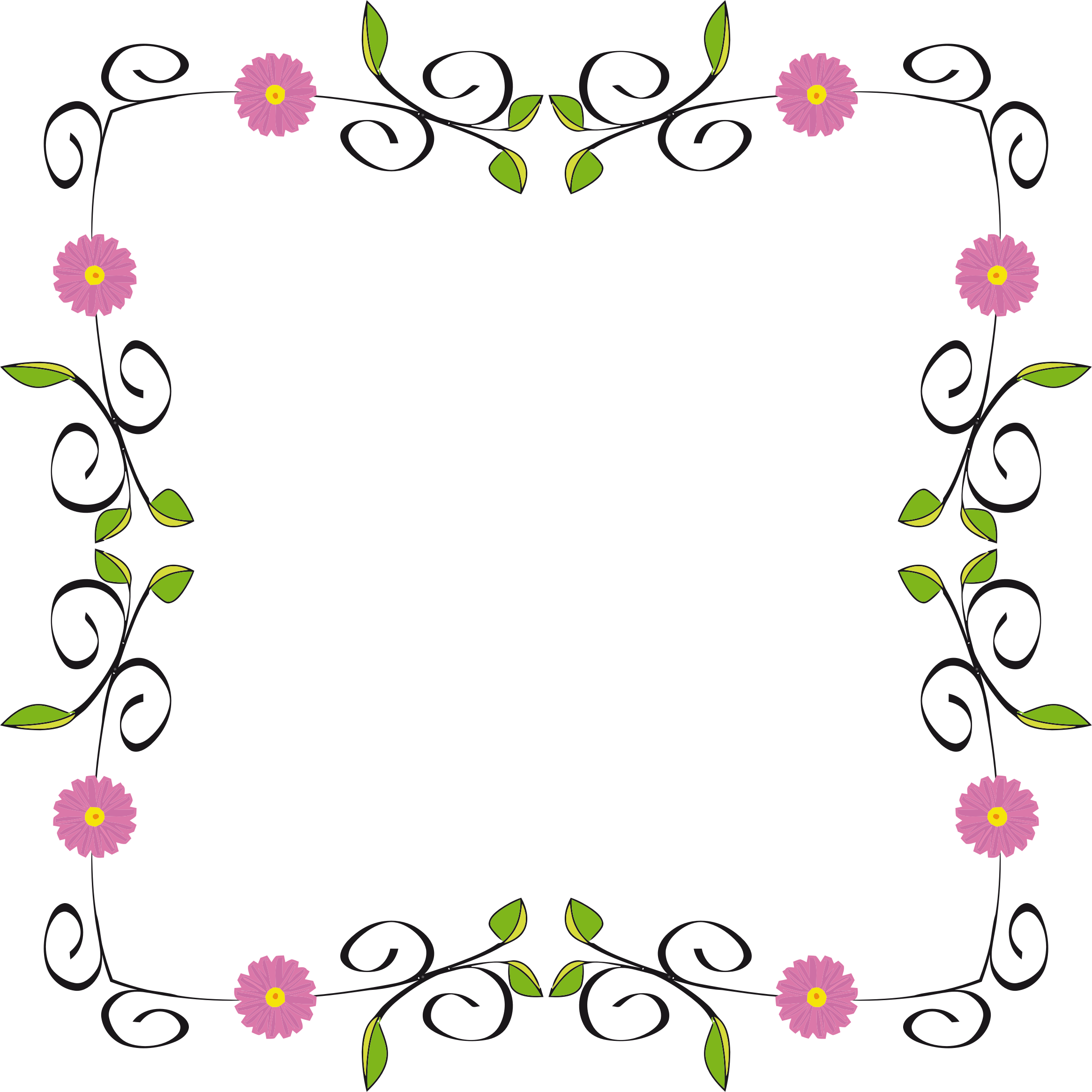 Floral Border Extended by GDJ