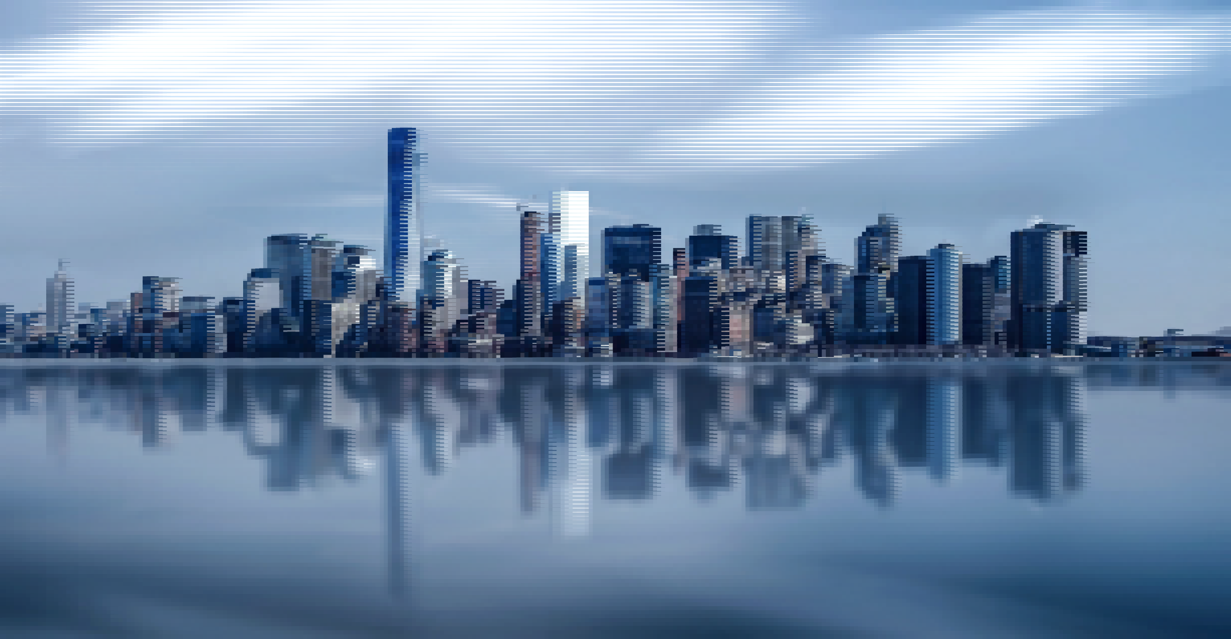 Surreal New York Skyline 2 by GDJ