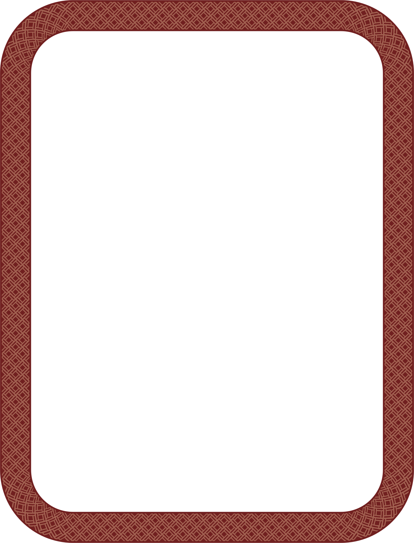 Wicker Border 4 (US size) by Arvin61r58