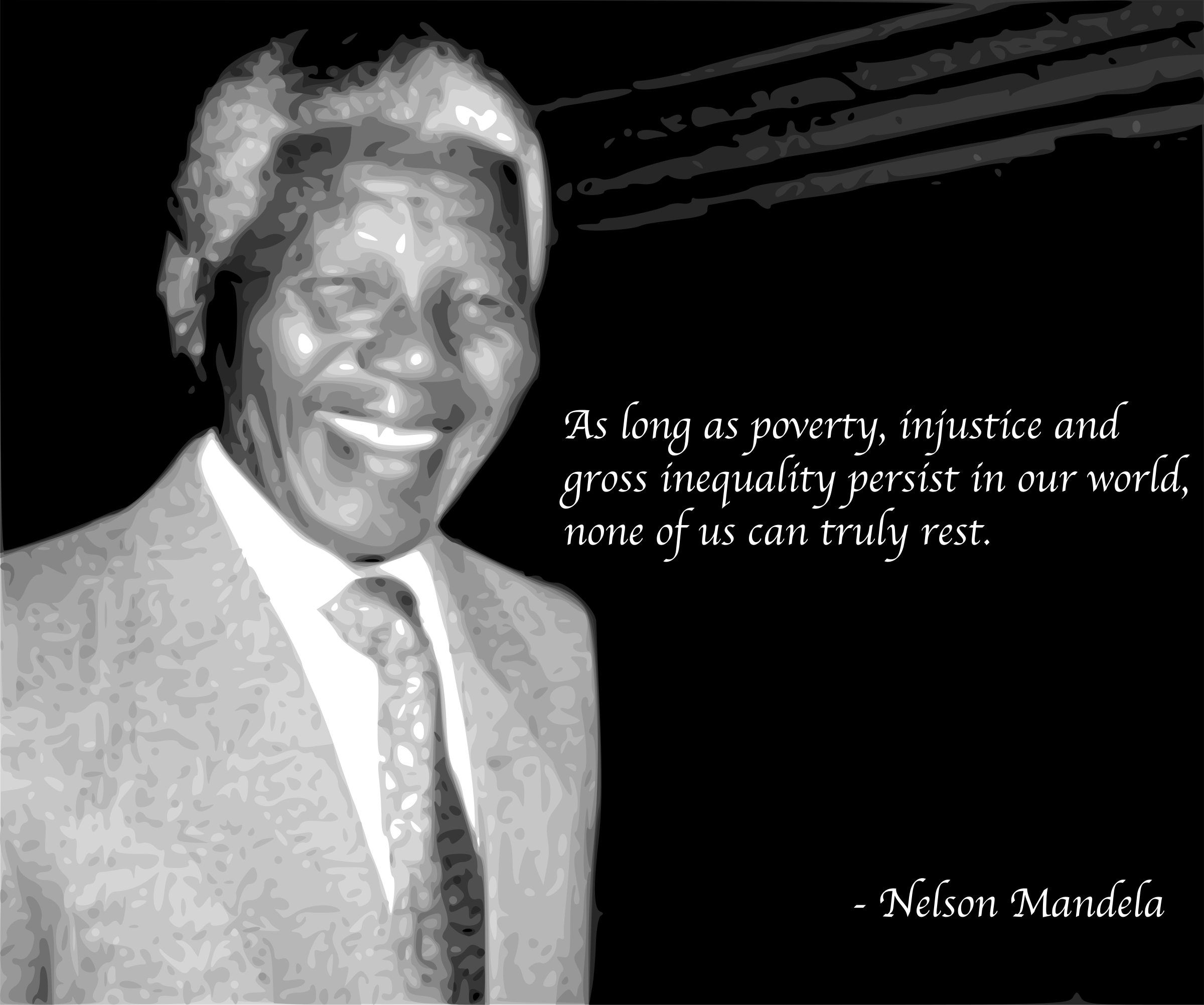 Nelson Mandela Quote by j4p4n