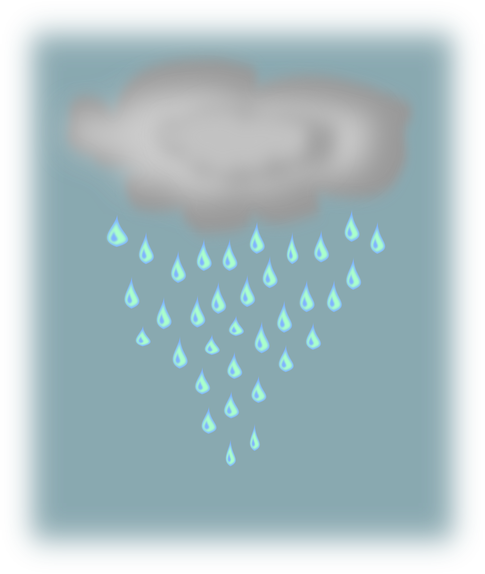 lluvia (rain cloud) by silvia2k1
