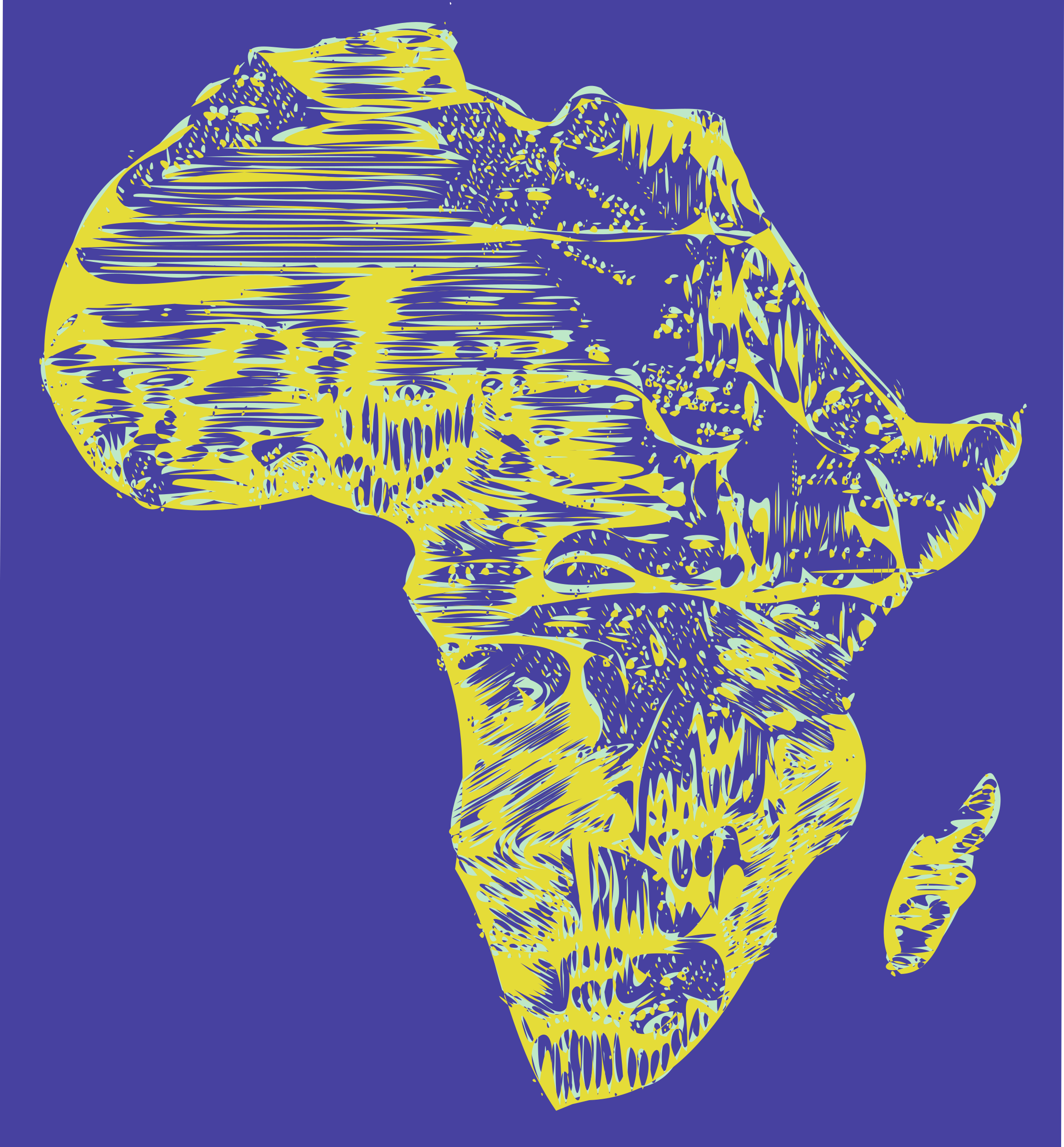 Abstract Africa by j4p4n