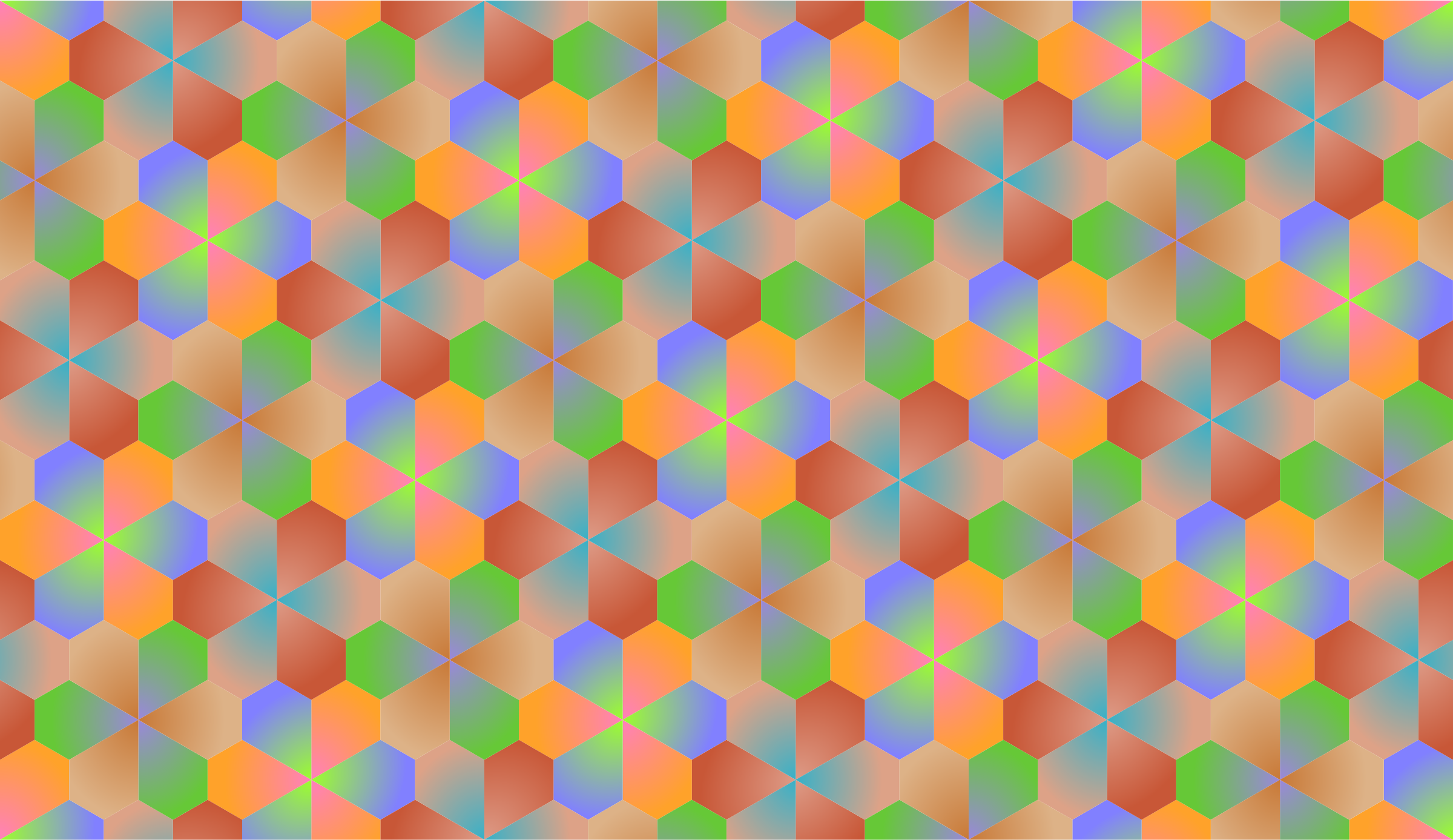 Tessellation 10 (variant 2) by Firkin