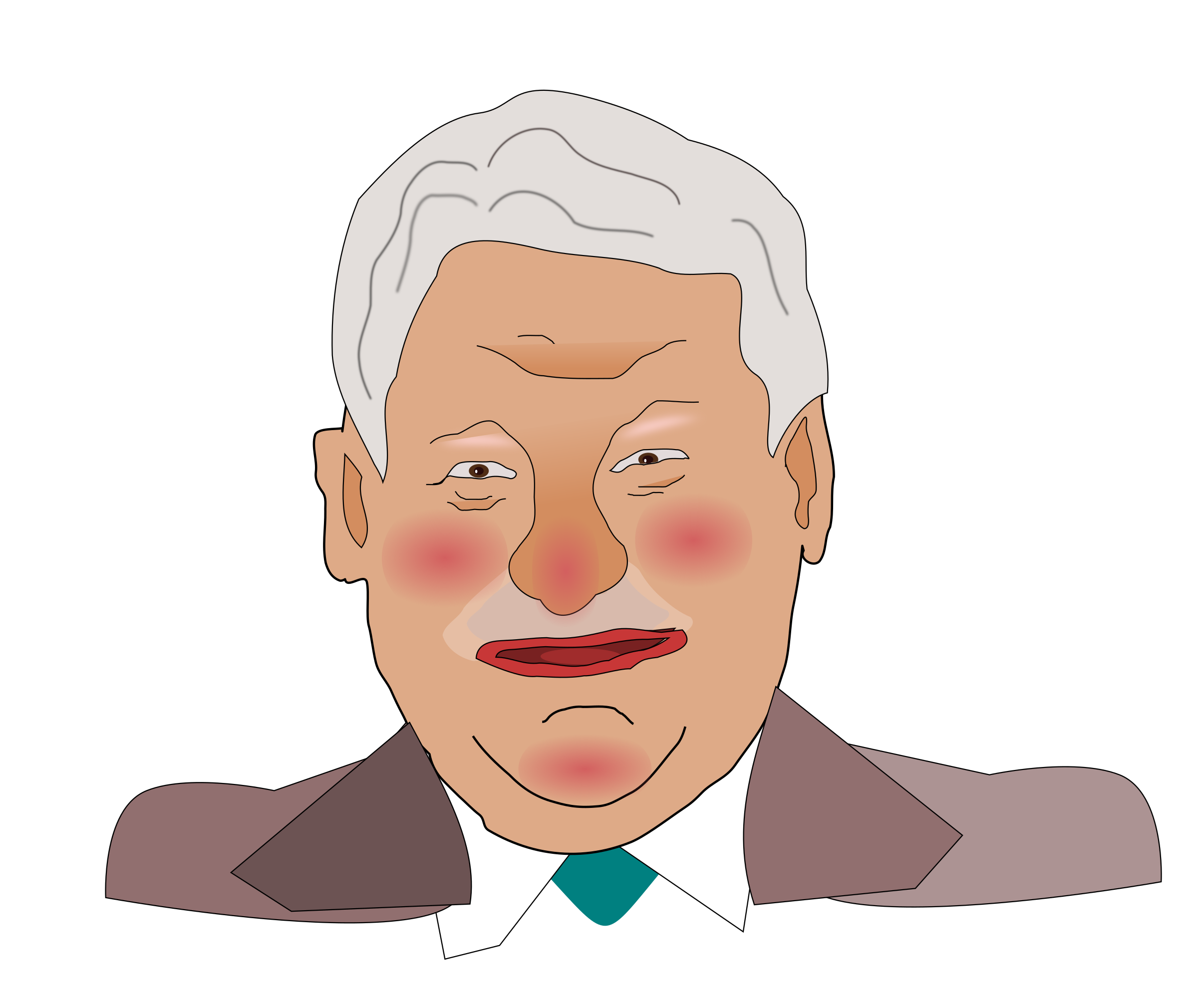 Boris Yeltsin by clausrei