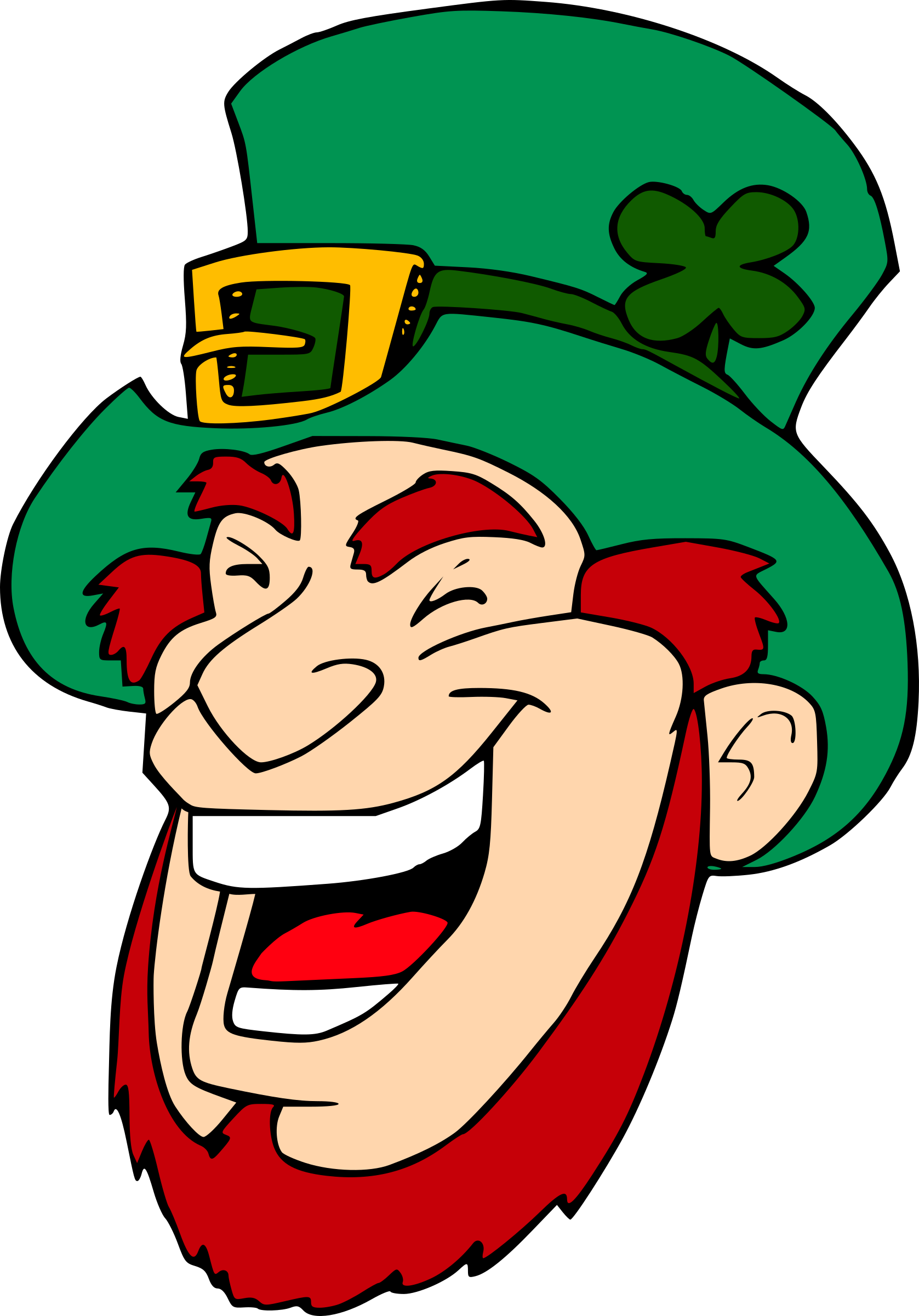 Laughing Leprechaun 1 by SeriousTux