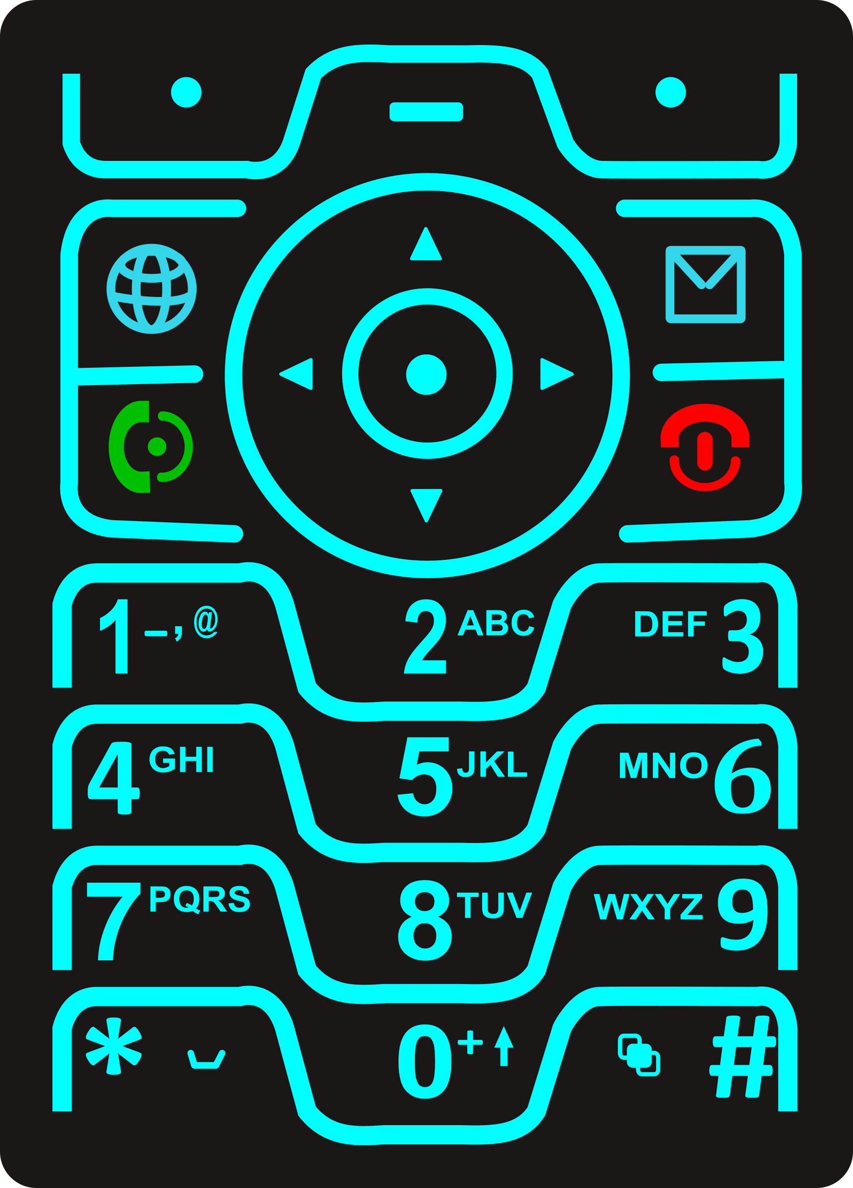 Phone Keypad by Startright