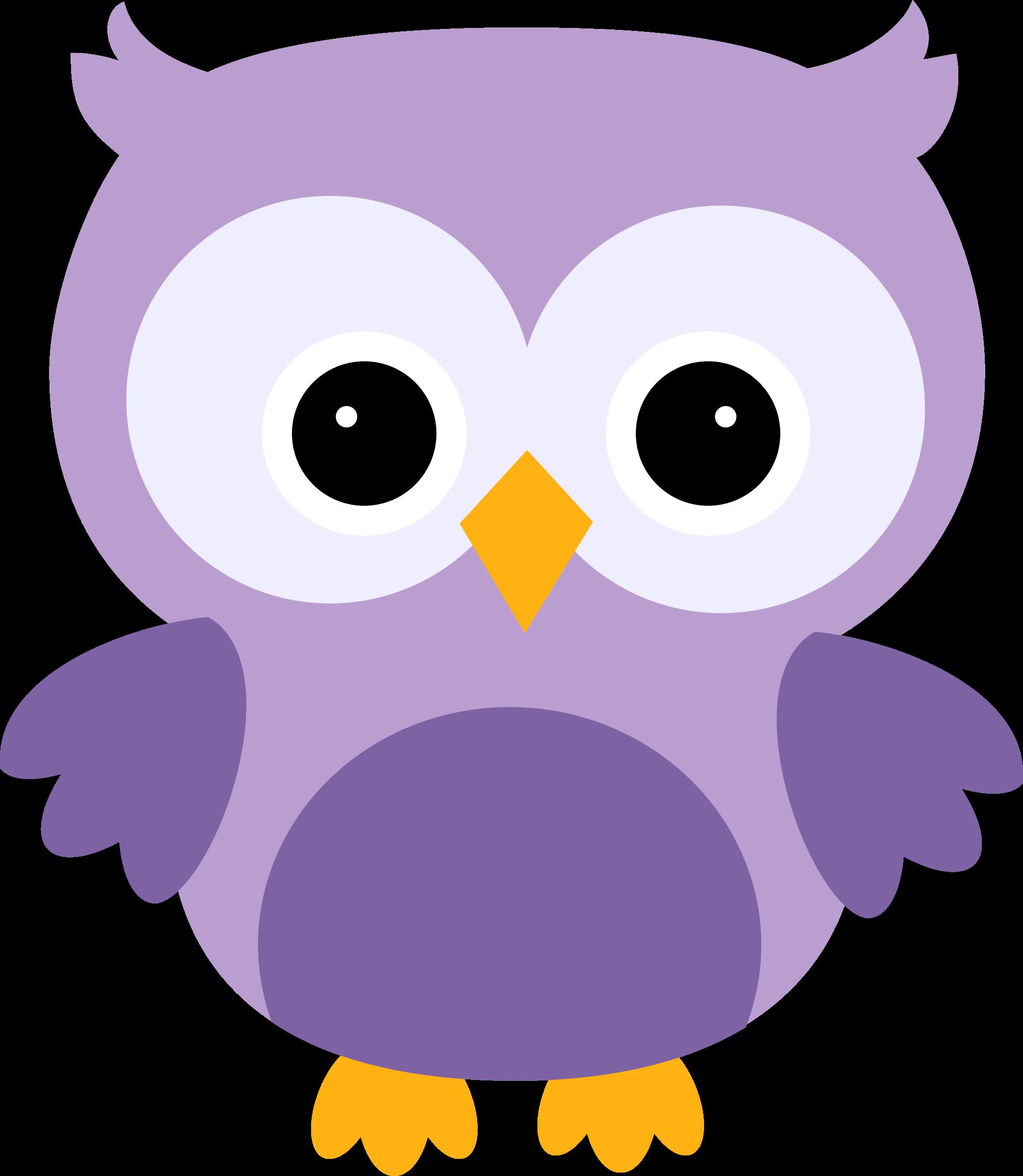 cute owl clip art - HD2088×2400