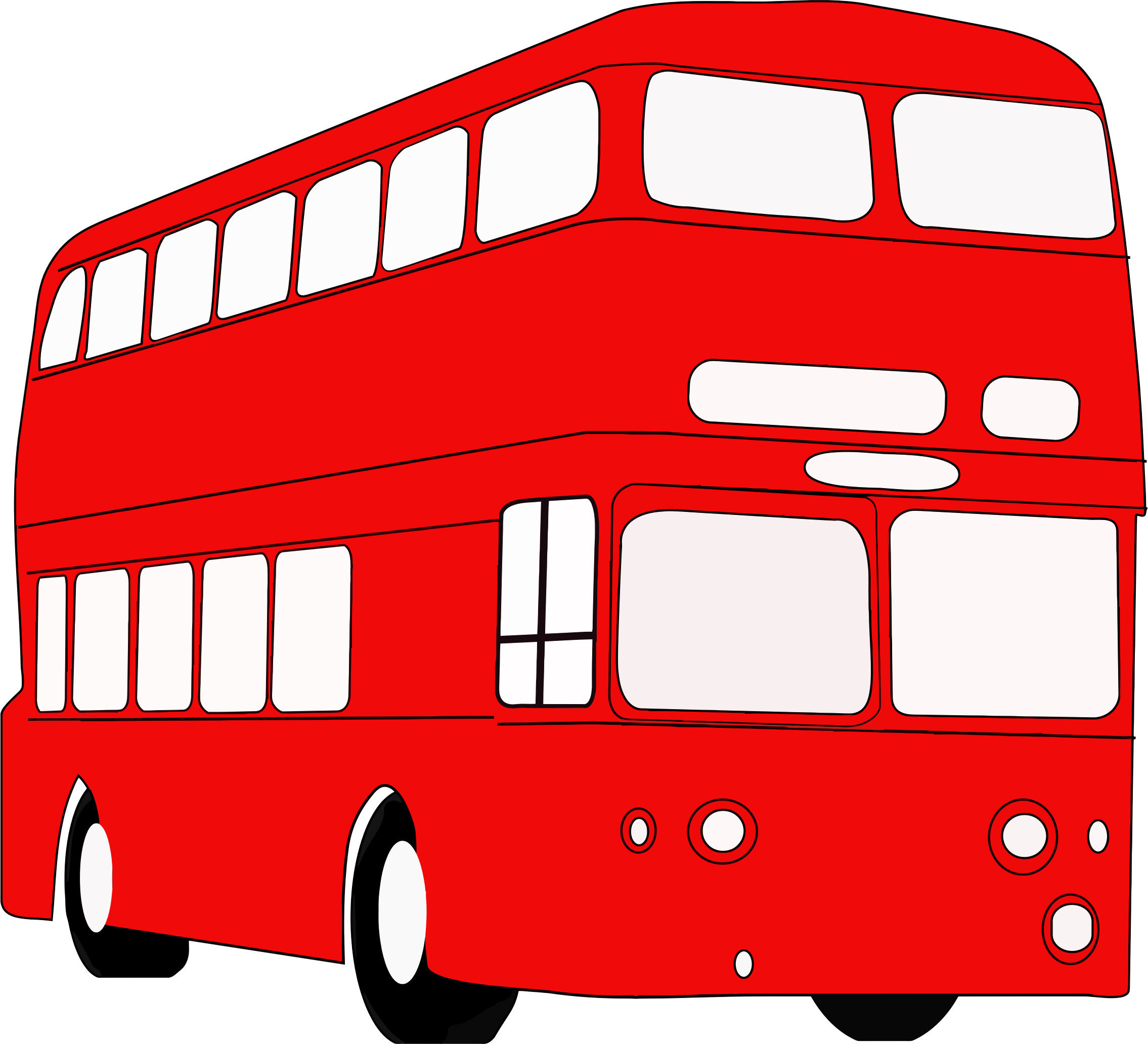 Double Decker London Bus by GDJ