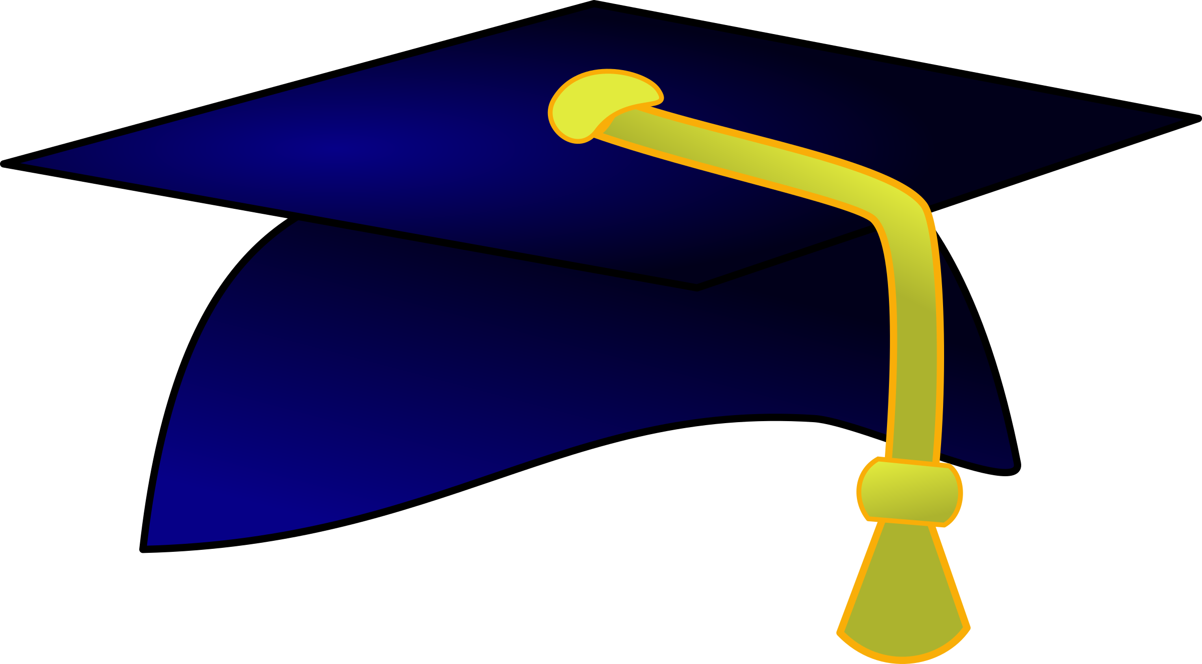 Clipart - university hat