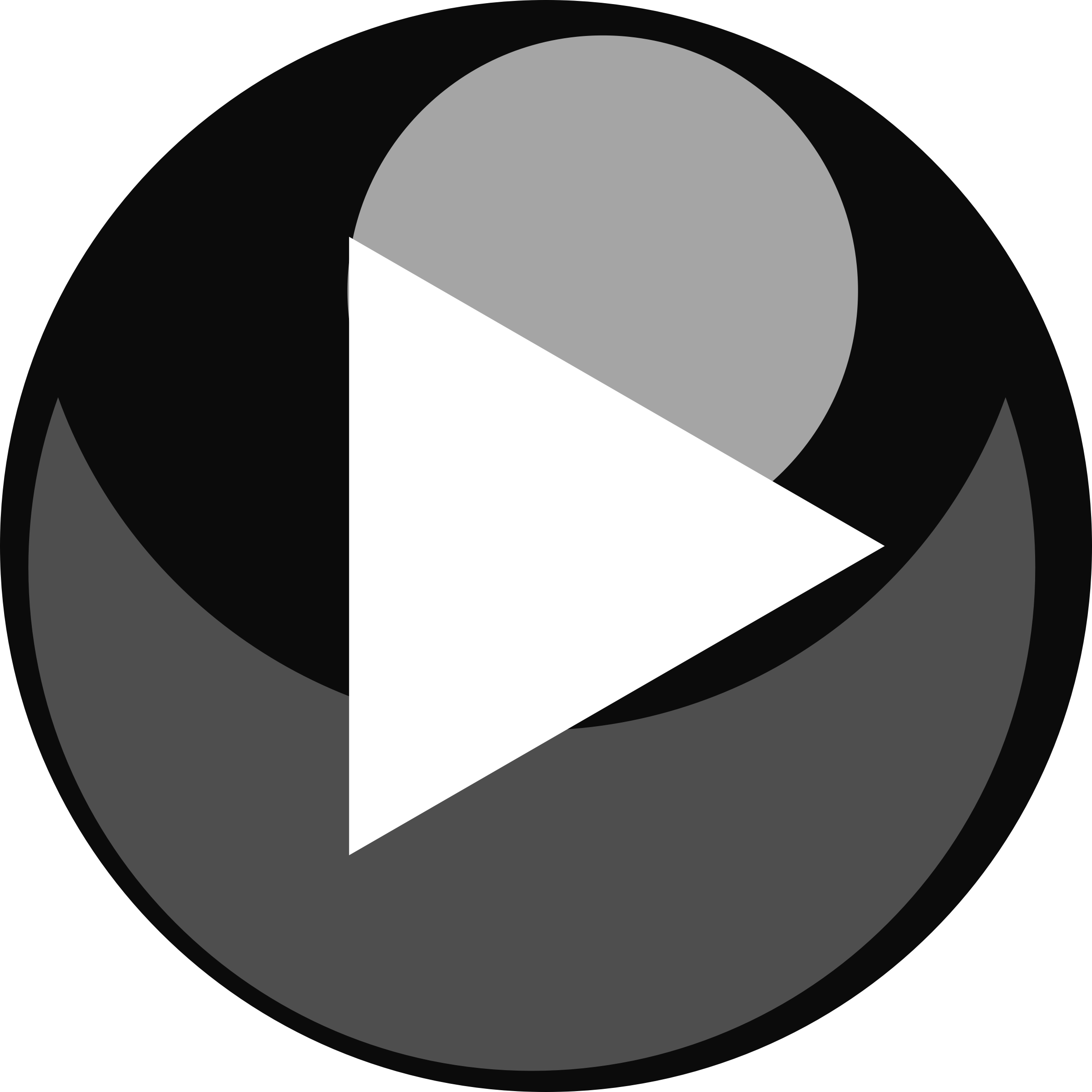 Play button (transparent) by rugkme