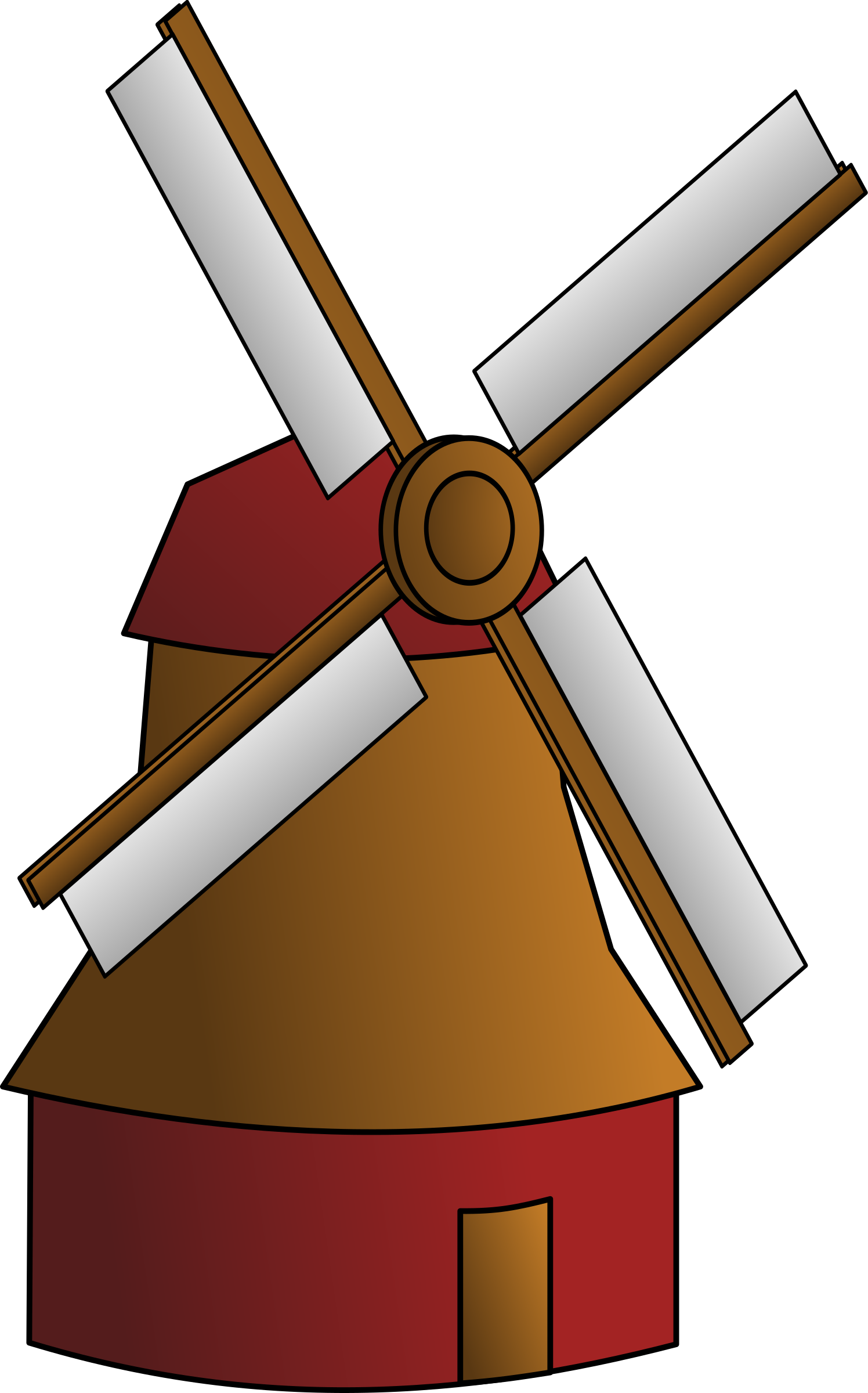windmill by egore911
