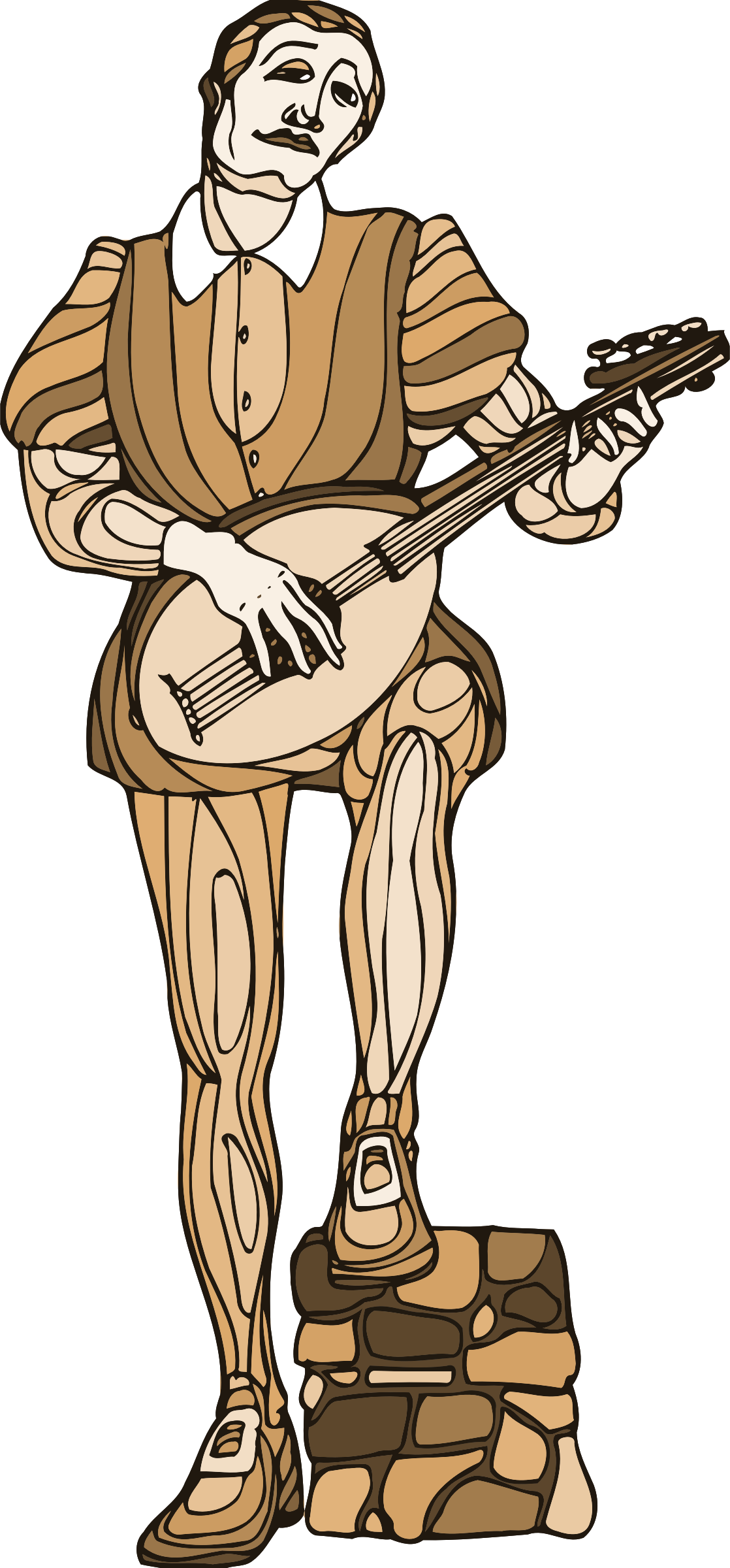 Shakespeare characters - musician 2 by Firkin