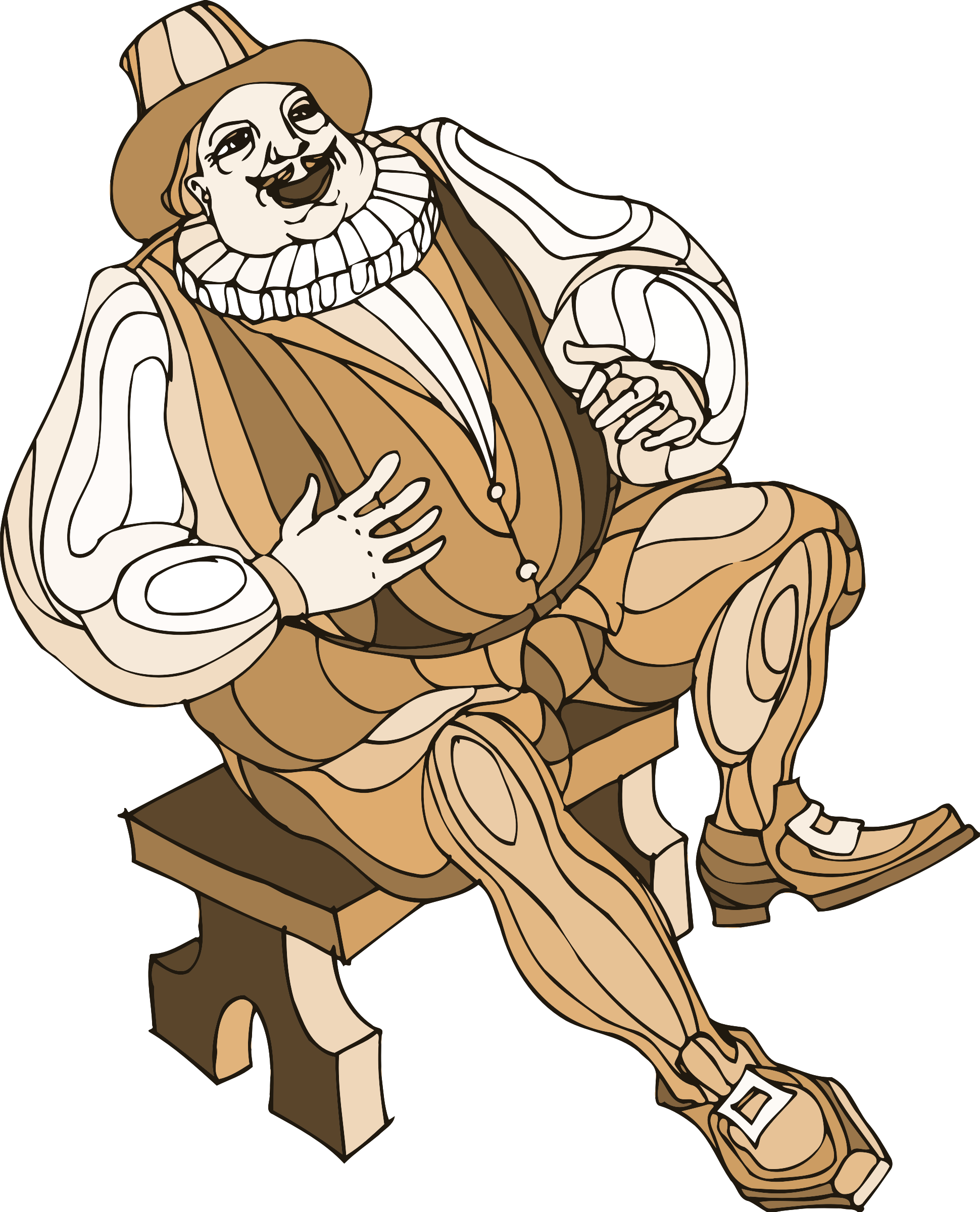 Shakespeare characters - Sir Toby by Firkin
