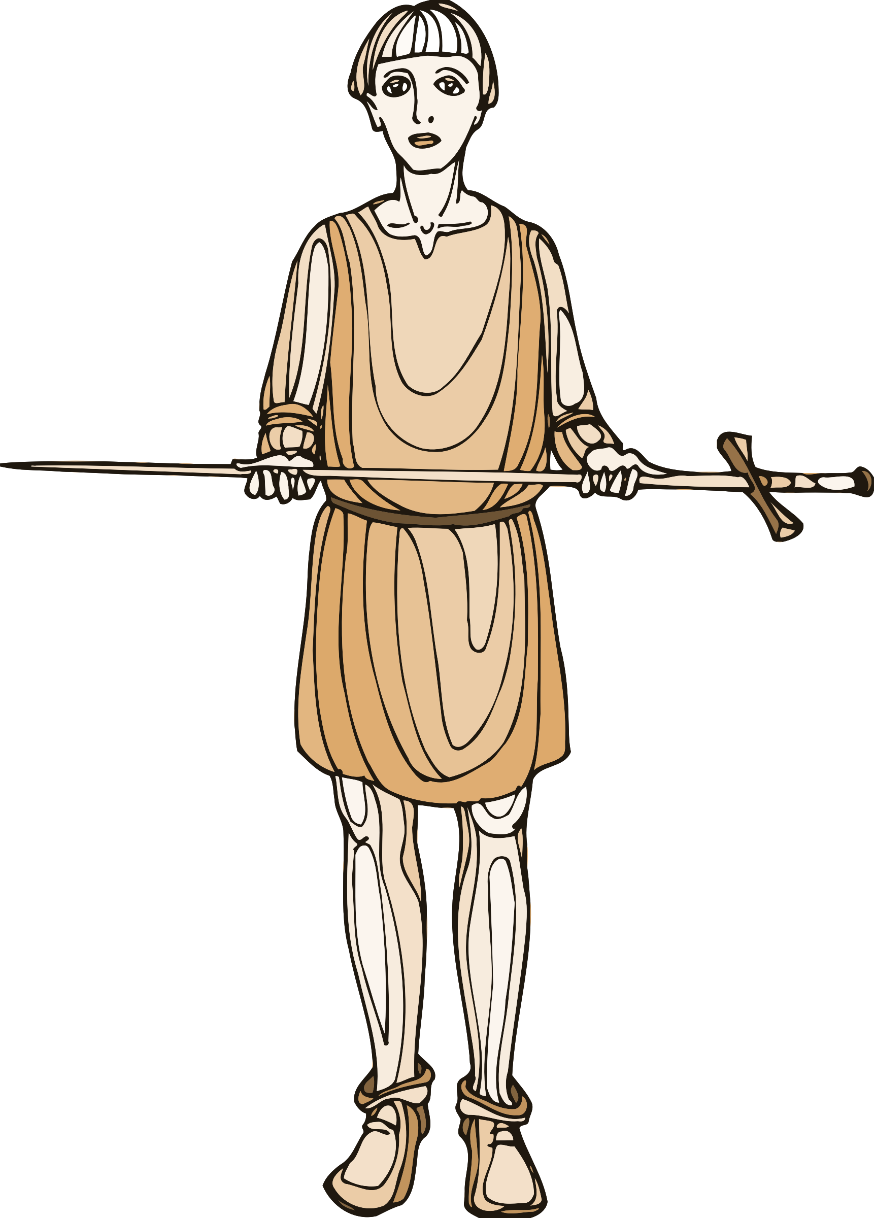 Shakespeare characters - sword bearer by Firkin