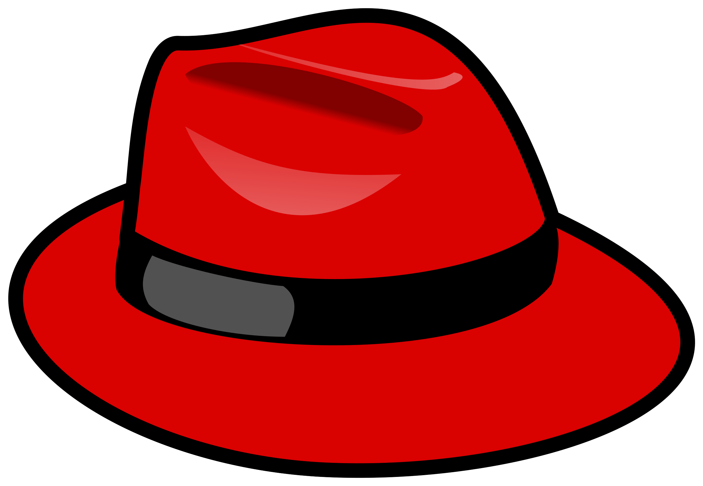 Red Fedora 1 by SeriousTux