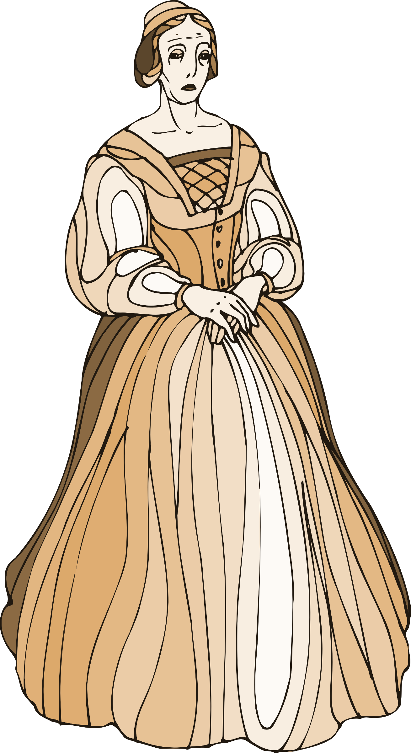 Shakespeare characters - Lady Montague by Firkin